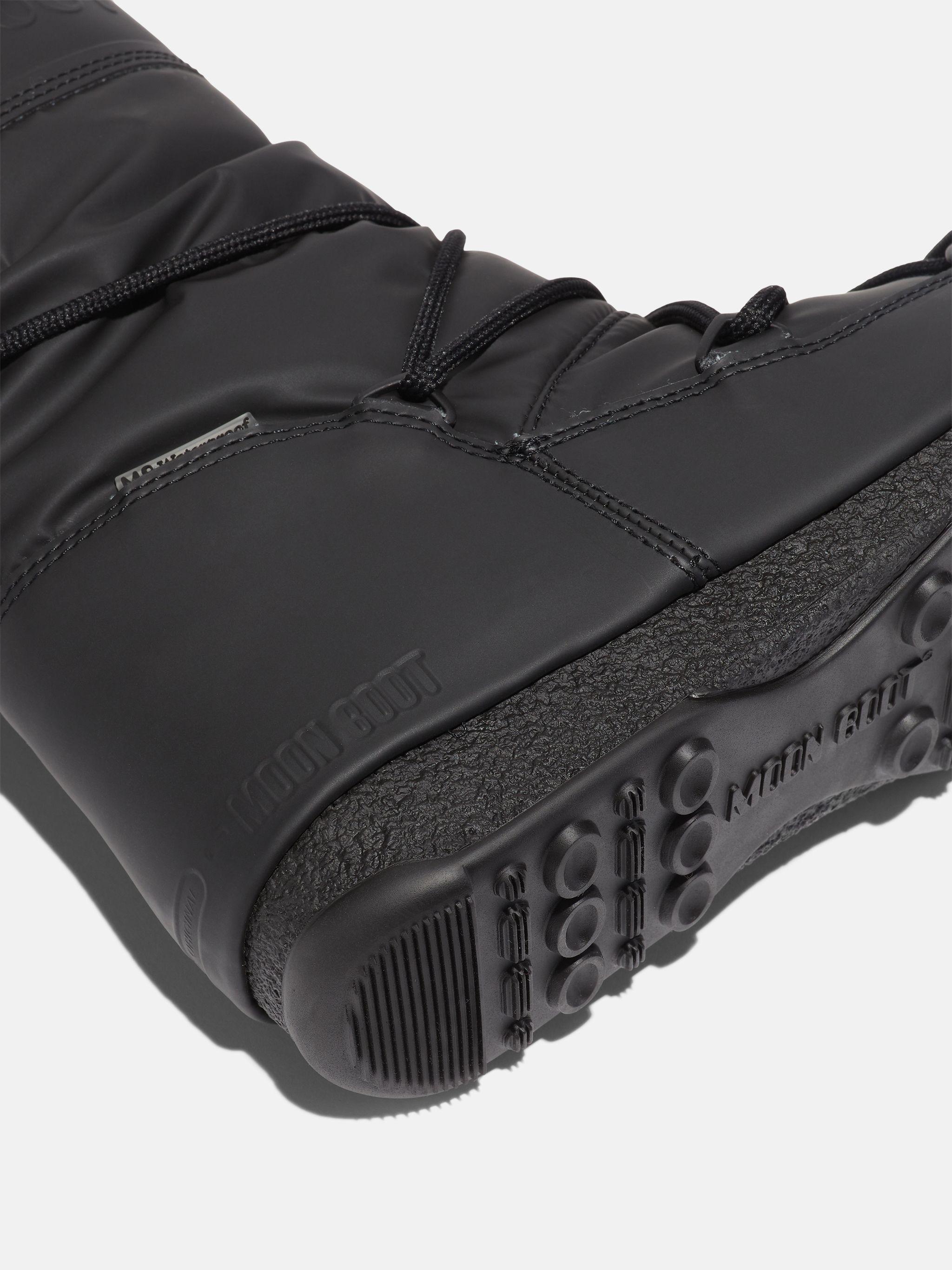 BOTAS PROTECHT HI-TOP BLACK DE GOMA