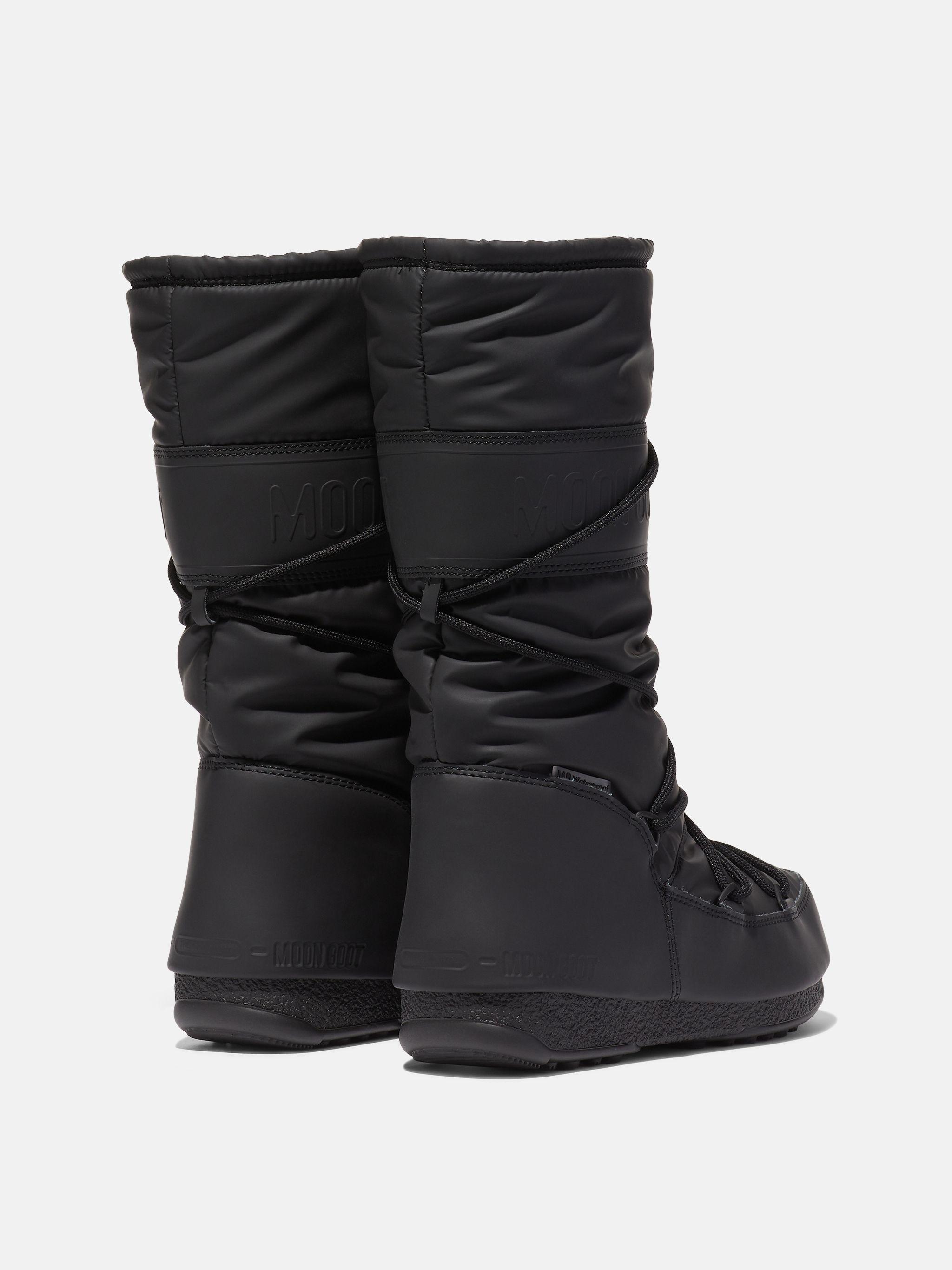 BOTTES PROTECHT HI-TOP BLACK EN CAOUTCHOUC