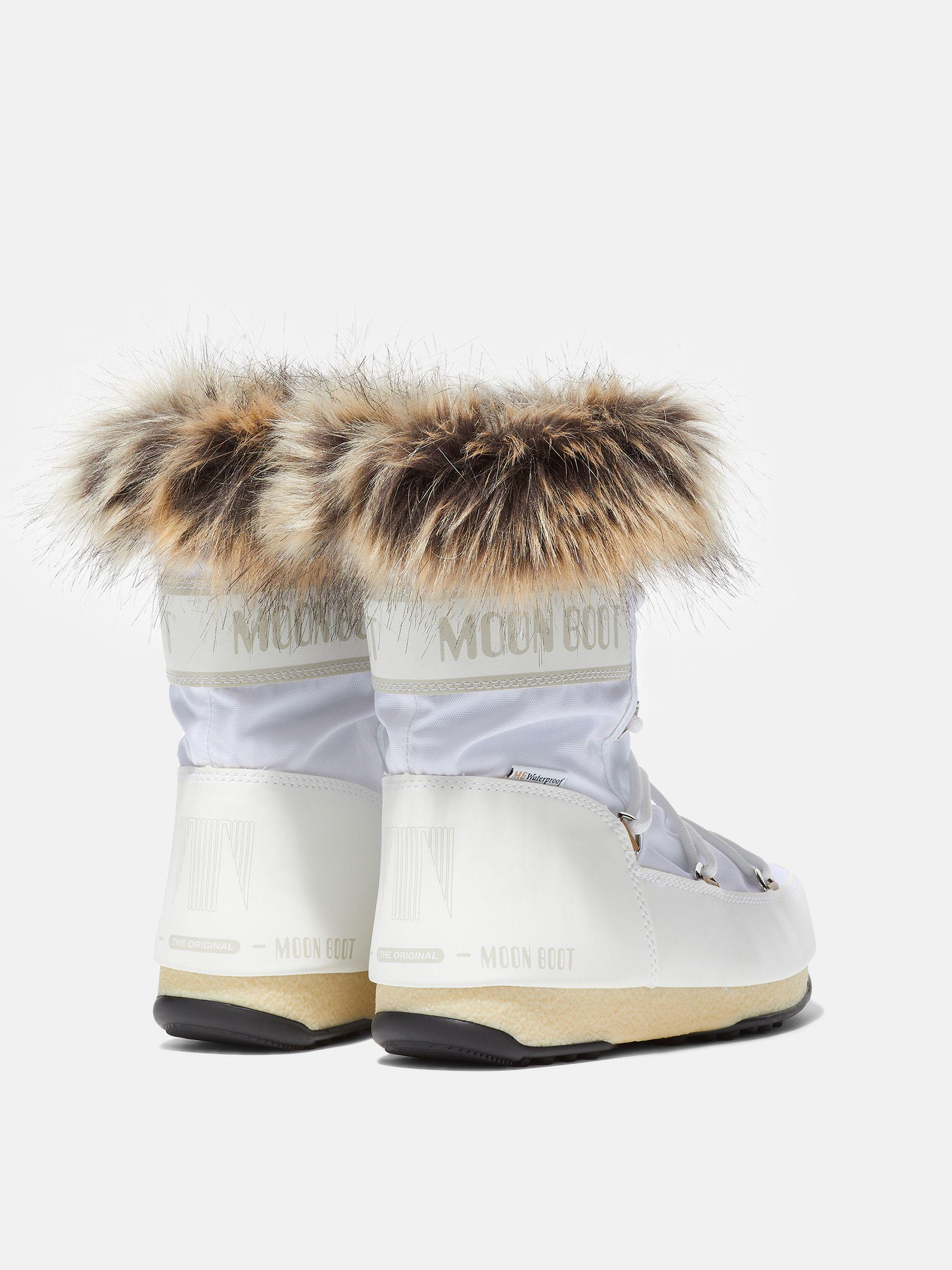 BOTTES PROTECHT LOW MONACO WHITE