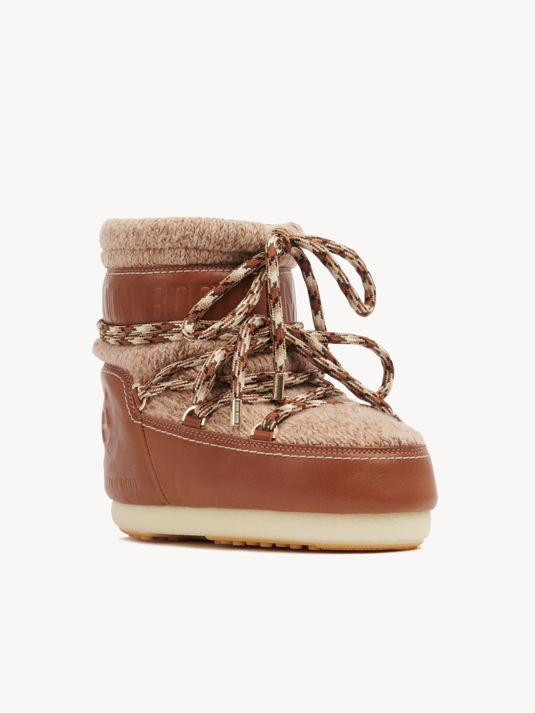 Chloé Ochre Wool Boots