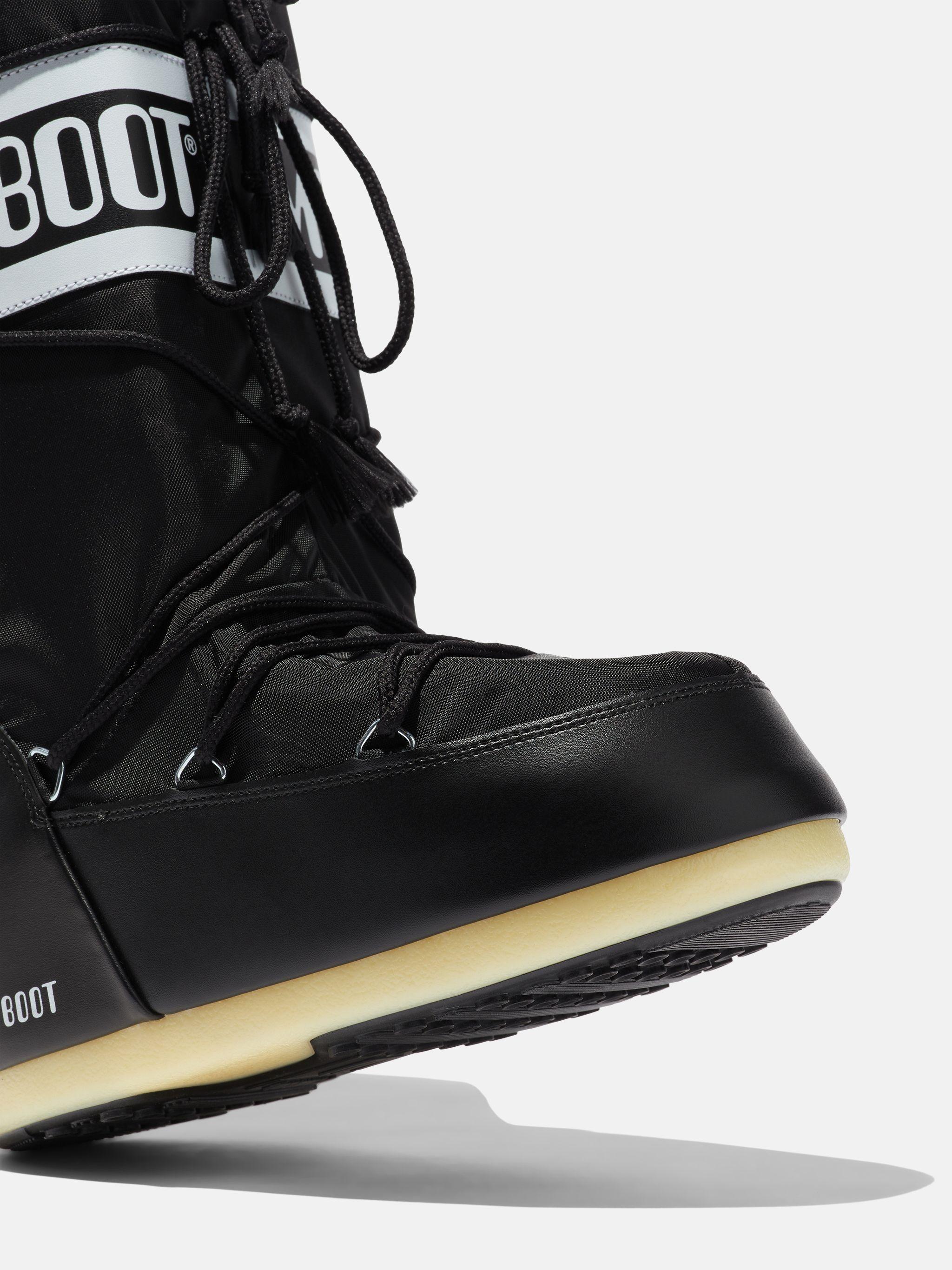 ICON BLACK NYLON BOOTS