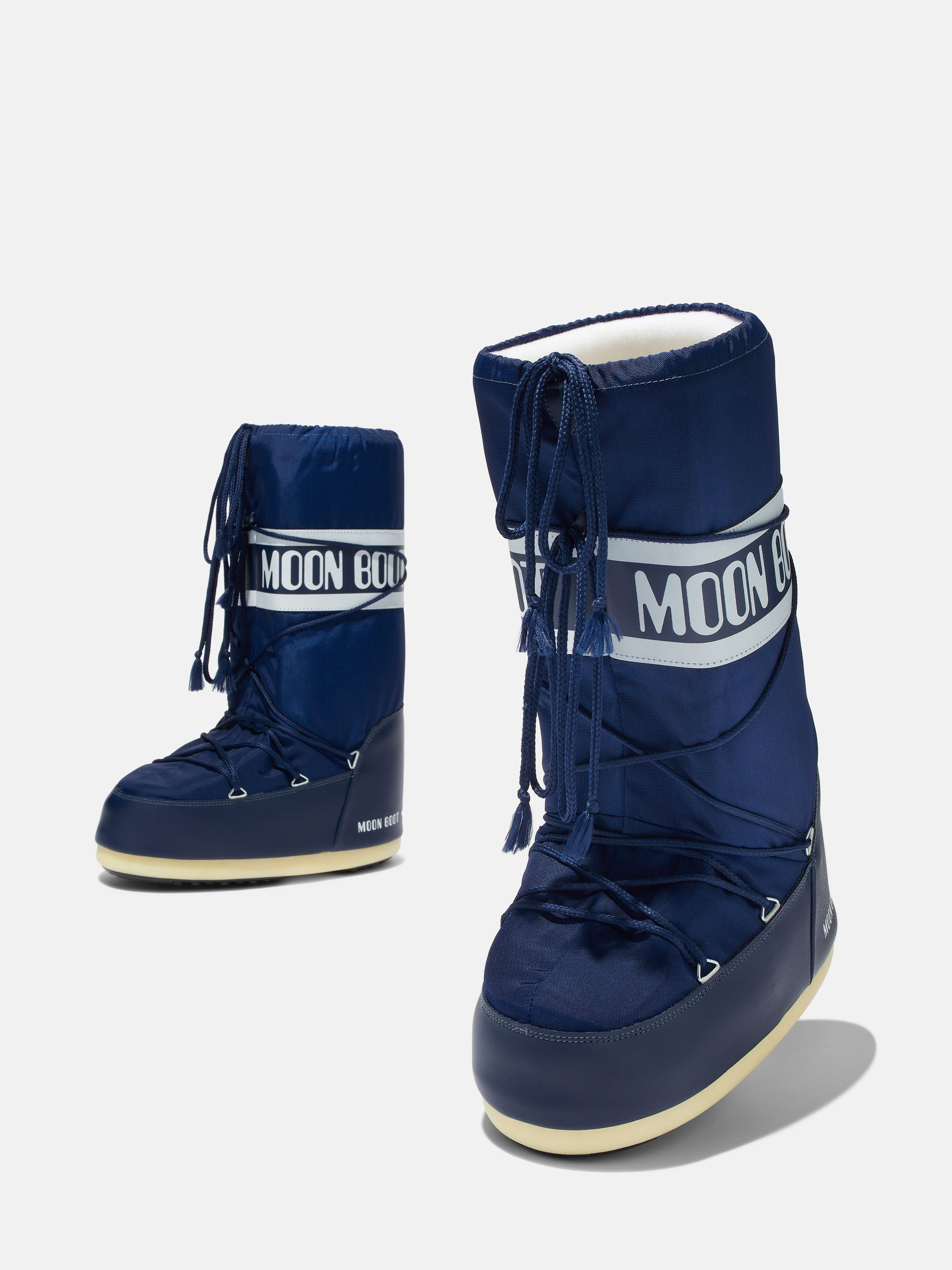 ICON BLUE NYLON BOOTS