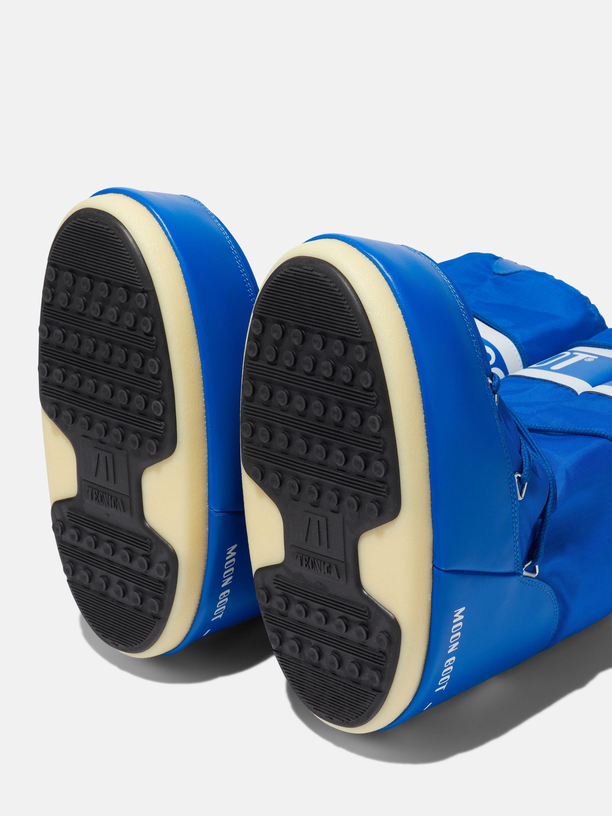ICON ELECTRIC-BLUE NYLON BOOTS