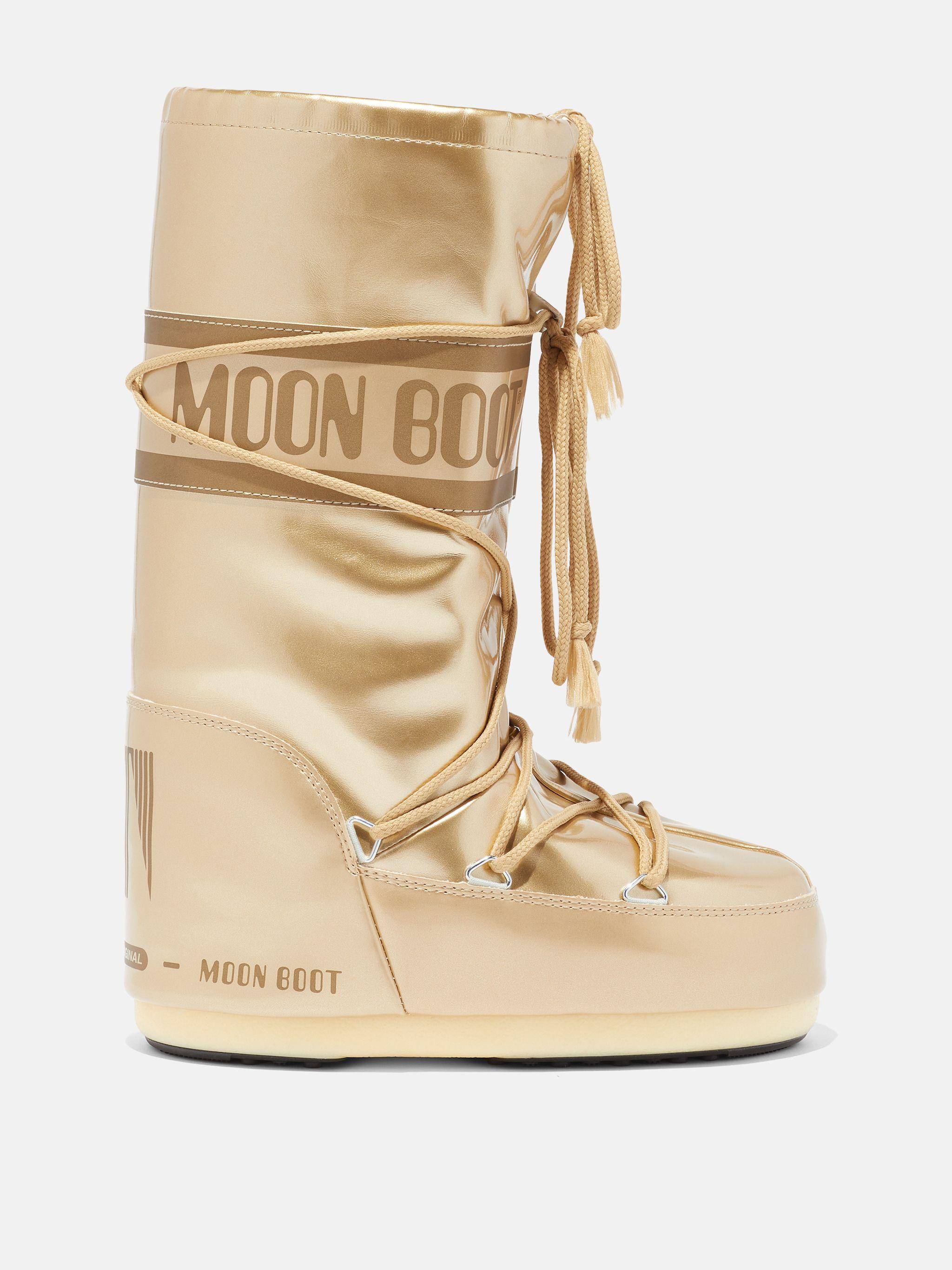 ICON GOLD VINYL BOOTS