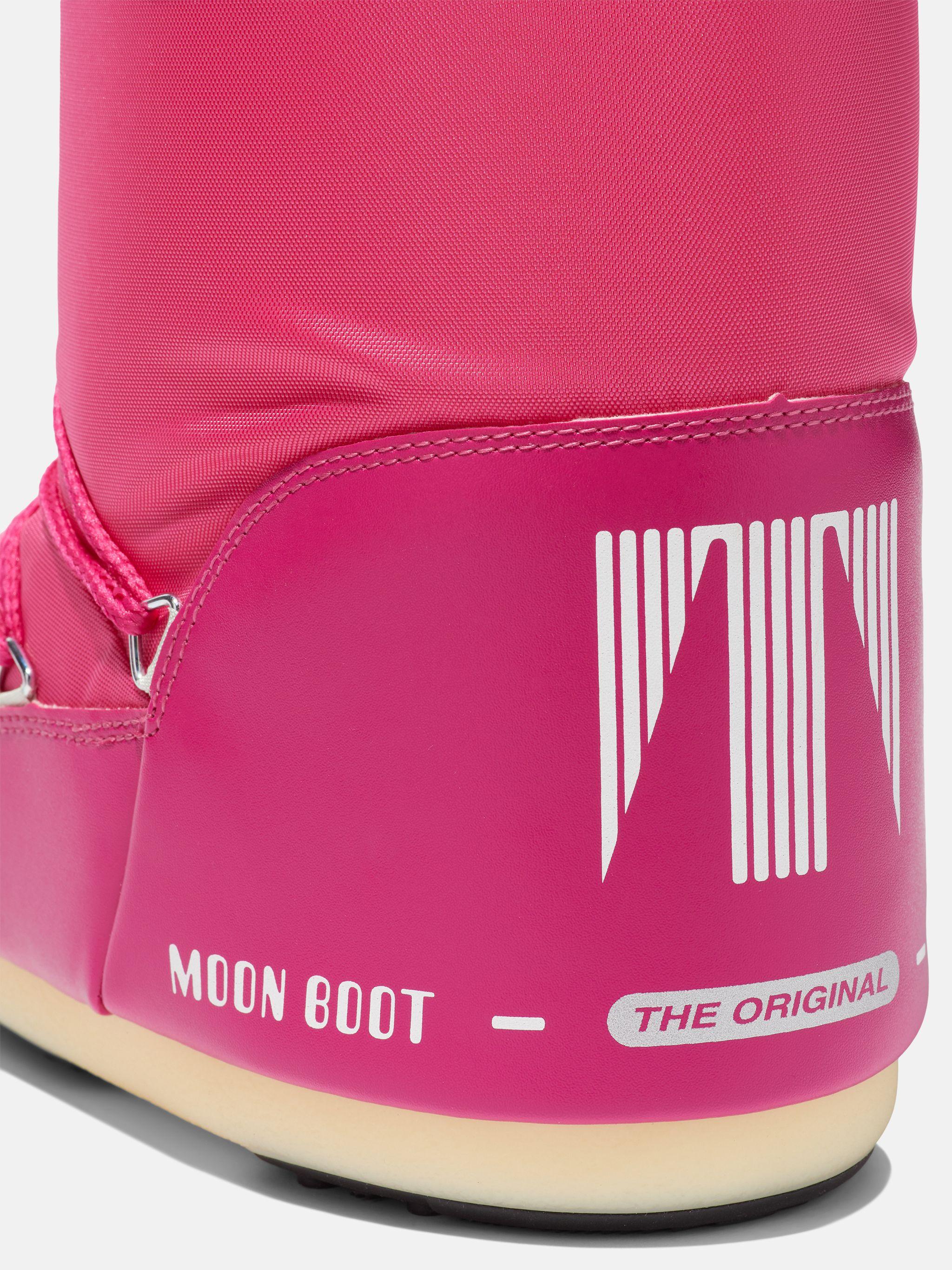 ICON HOT-PINK NYLON BOOTS