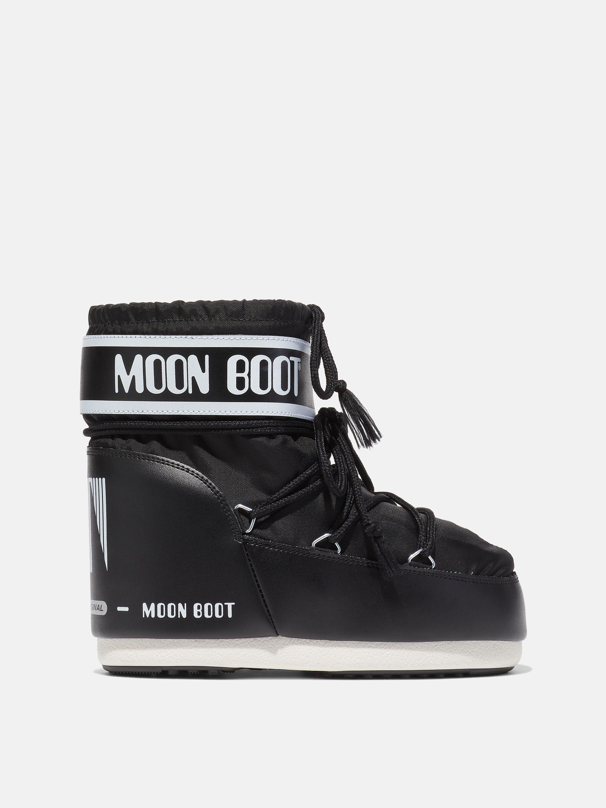ICON LOW BLACK NYLON BOOTS