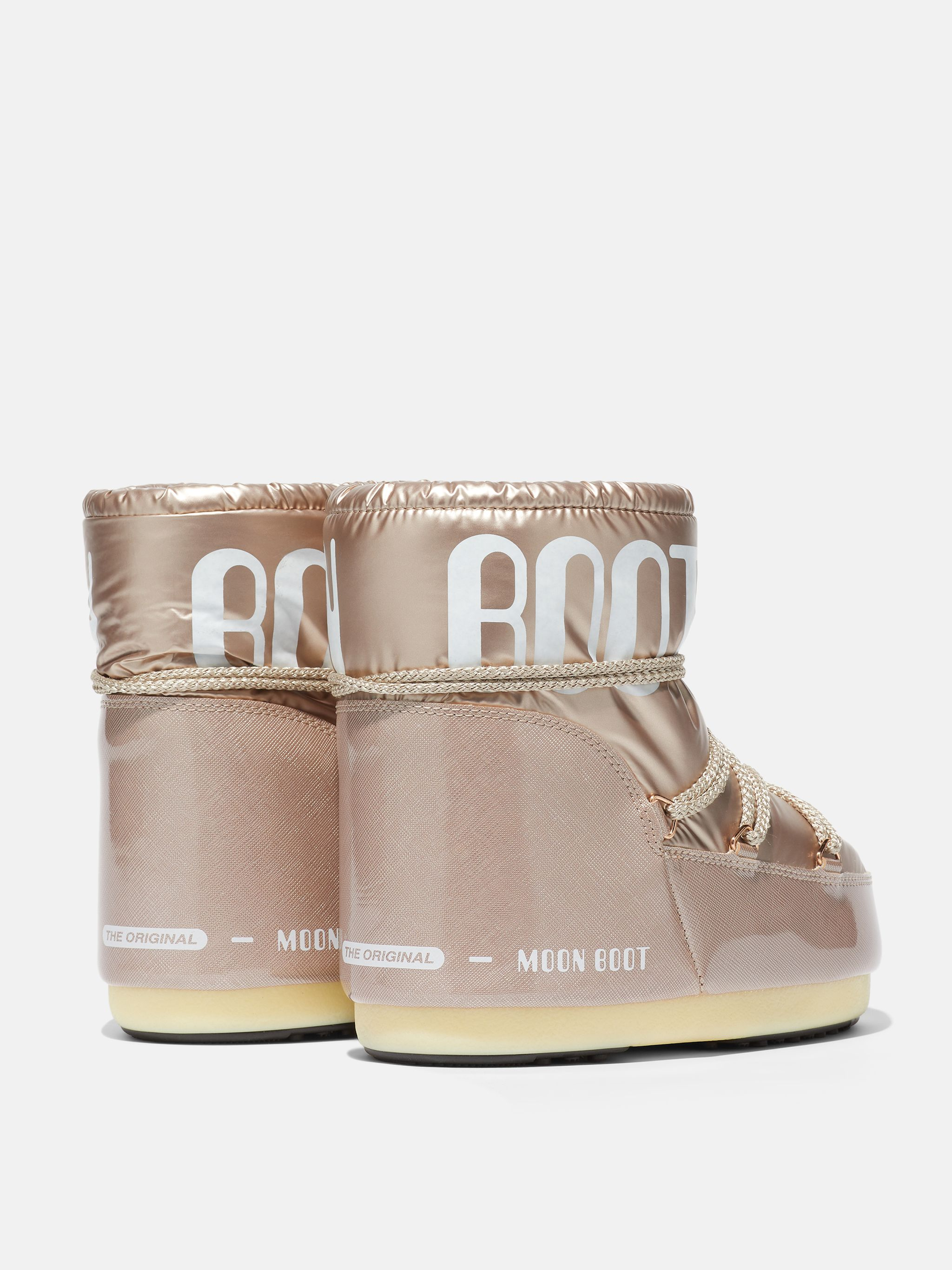 ICON LOW PILLOW ROSE-GOLD BOOTS