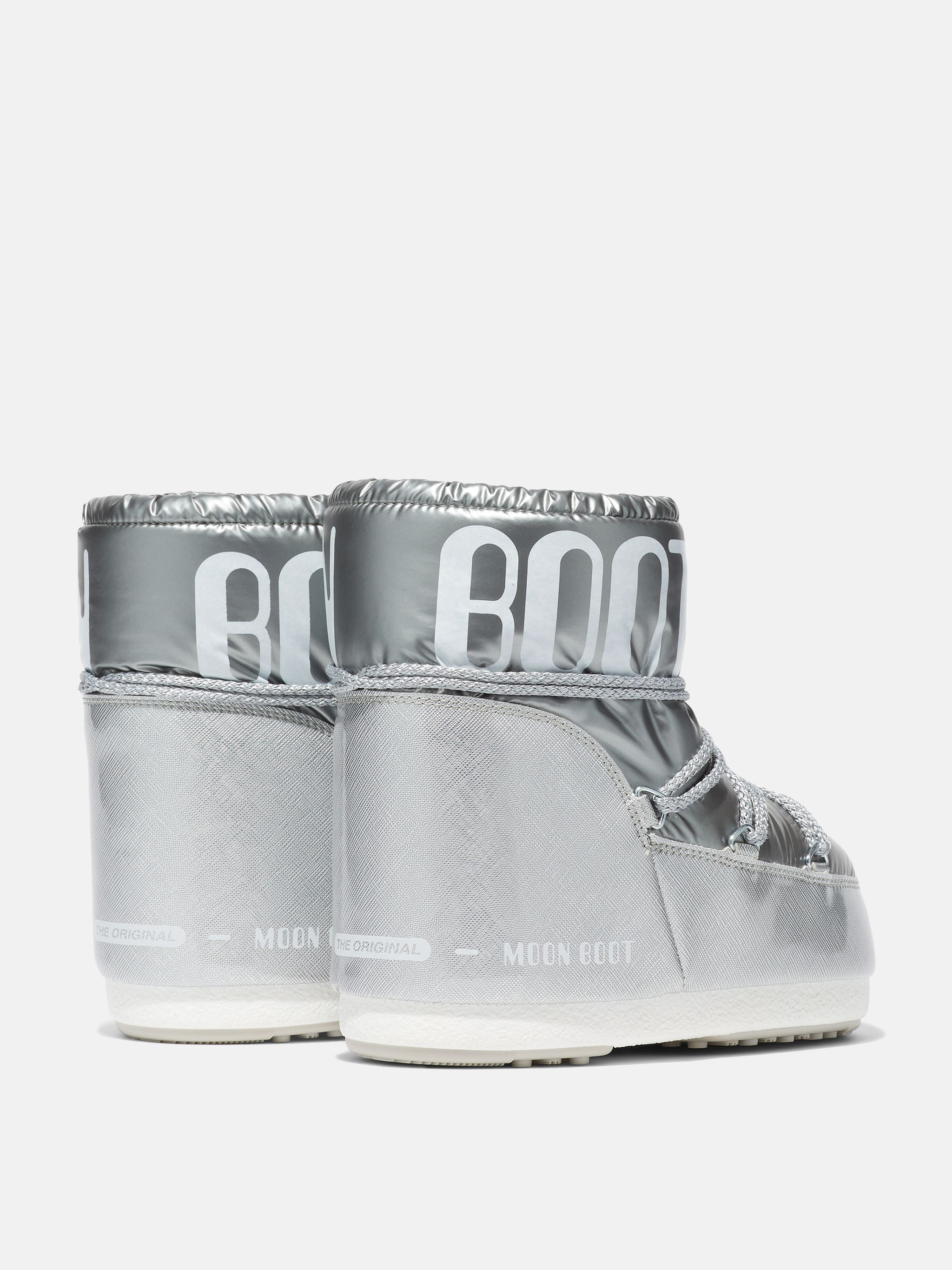 ICON LOW PILLOW SILVER BOOTS