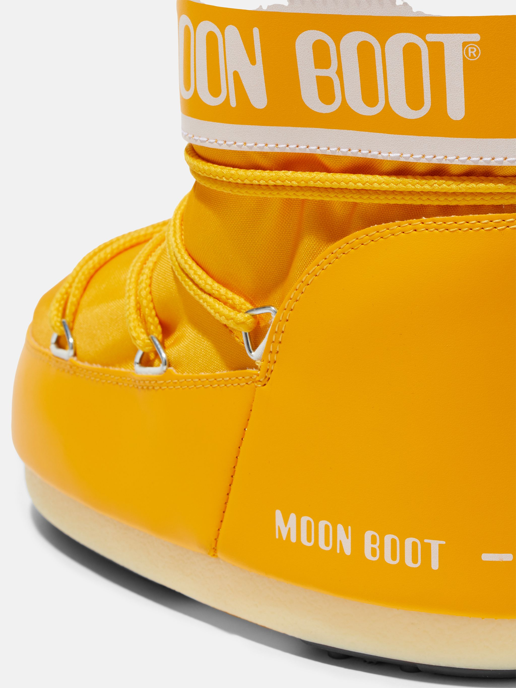 ICON LOW YELLOW NYLON BOOTS