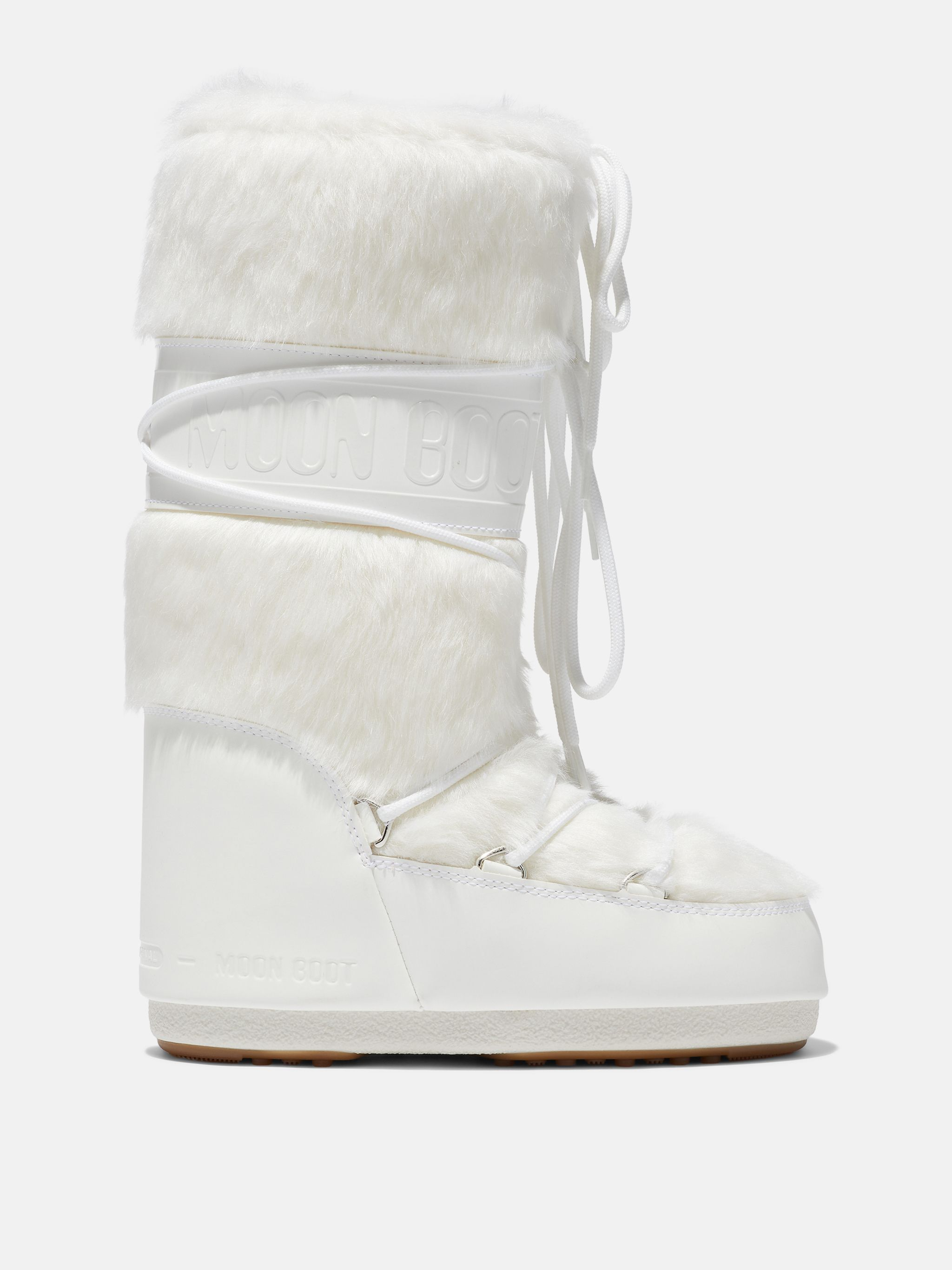 ICON WEISSE KUNSTFELL STIEFEL