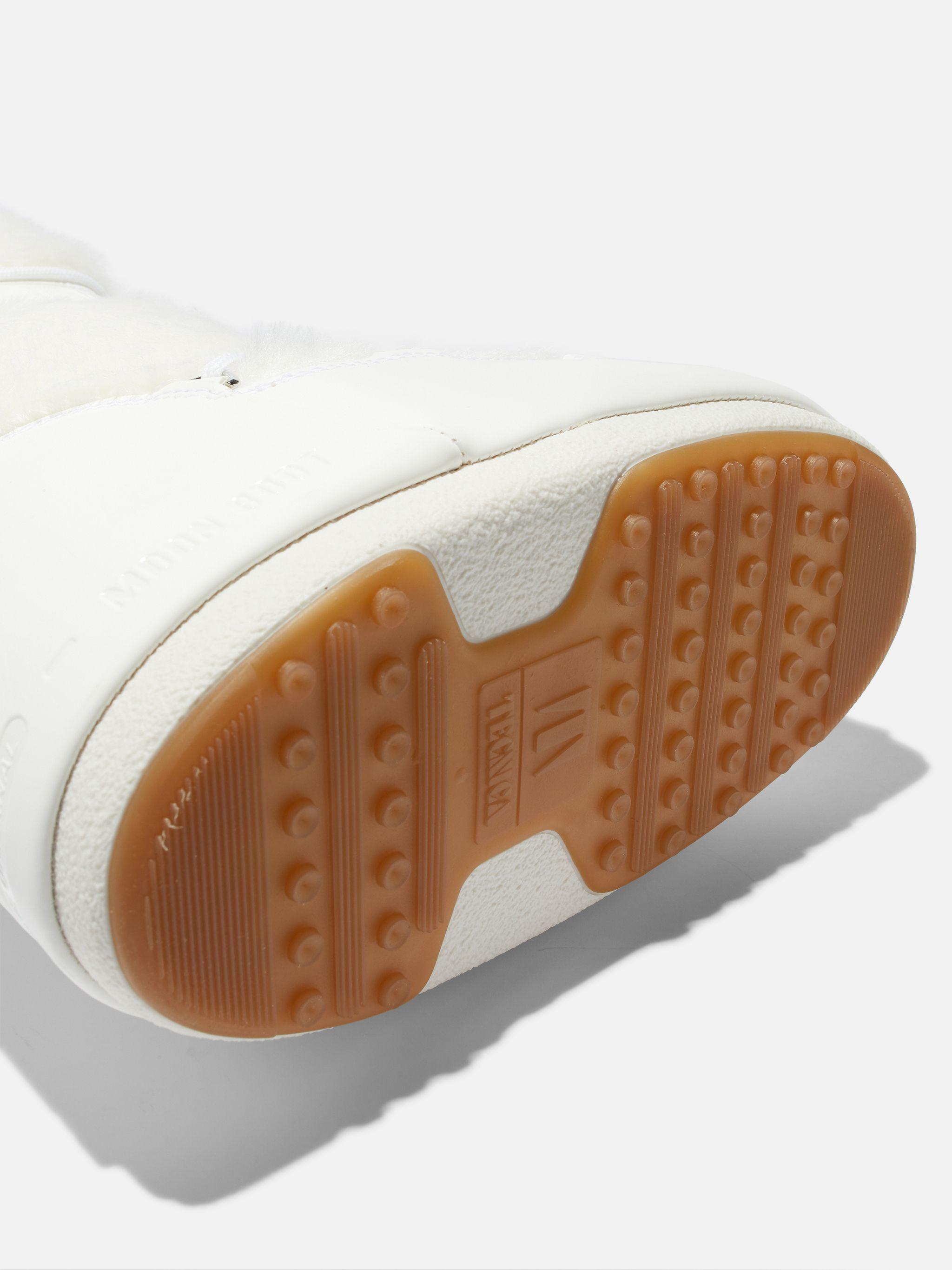 ICON WHITE FAUX-FUR BOOTS