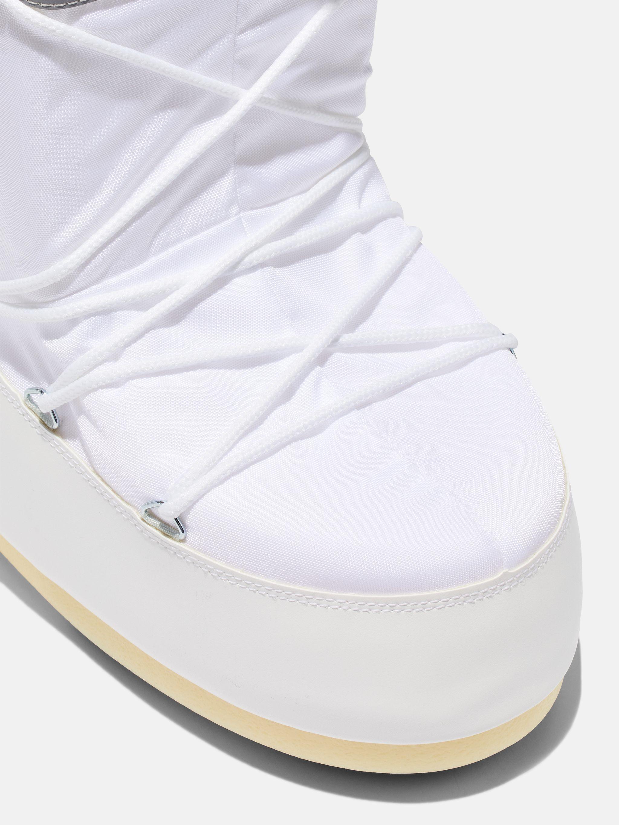 ICON WHITE NYLON BOOTS