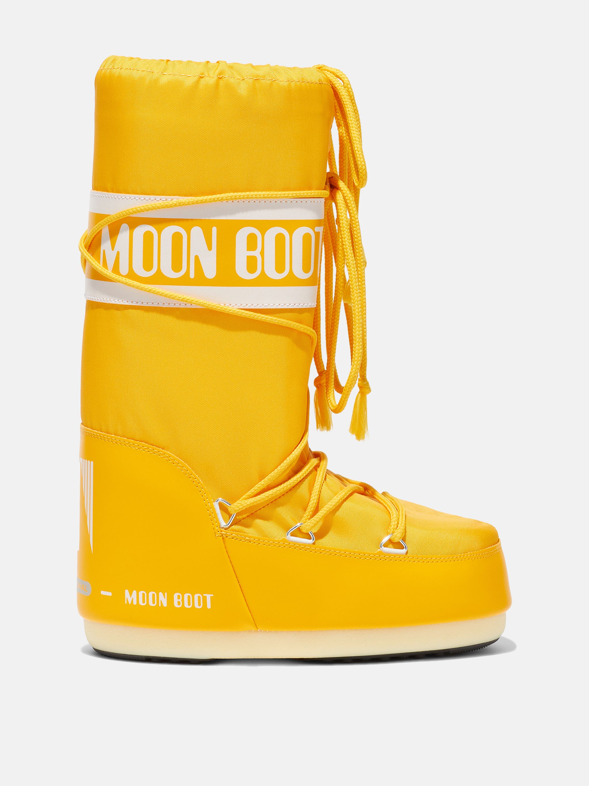 ICON YELLOW NYLON BOOTS