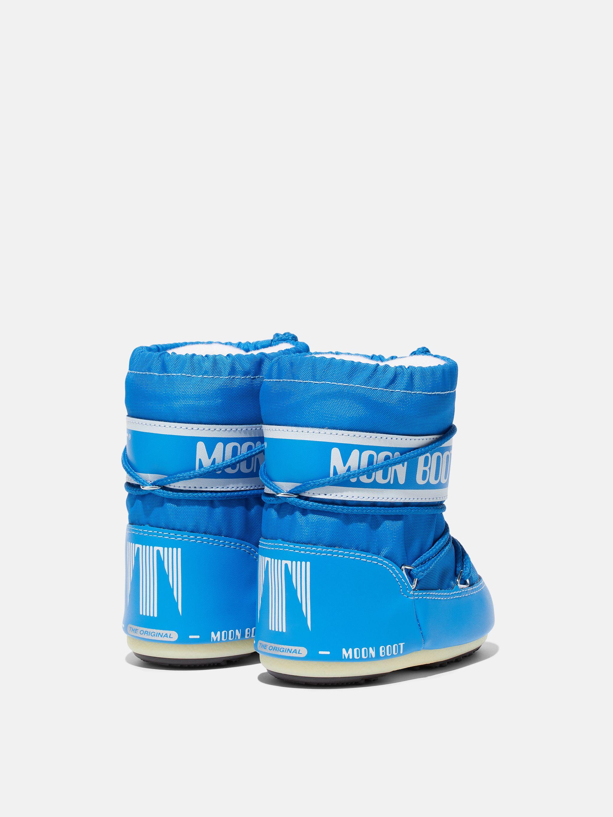 BOTTES ICON MINI AZURE-BLUE EN NYLON