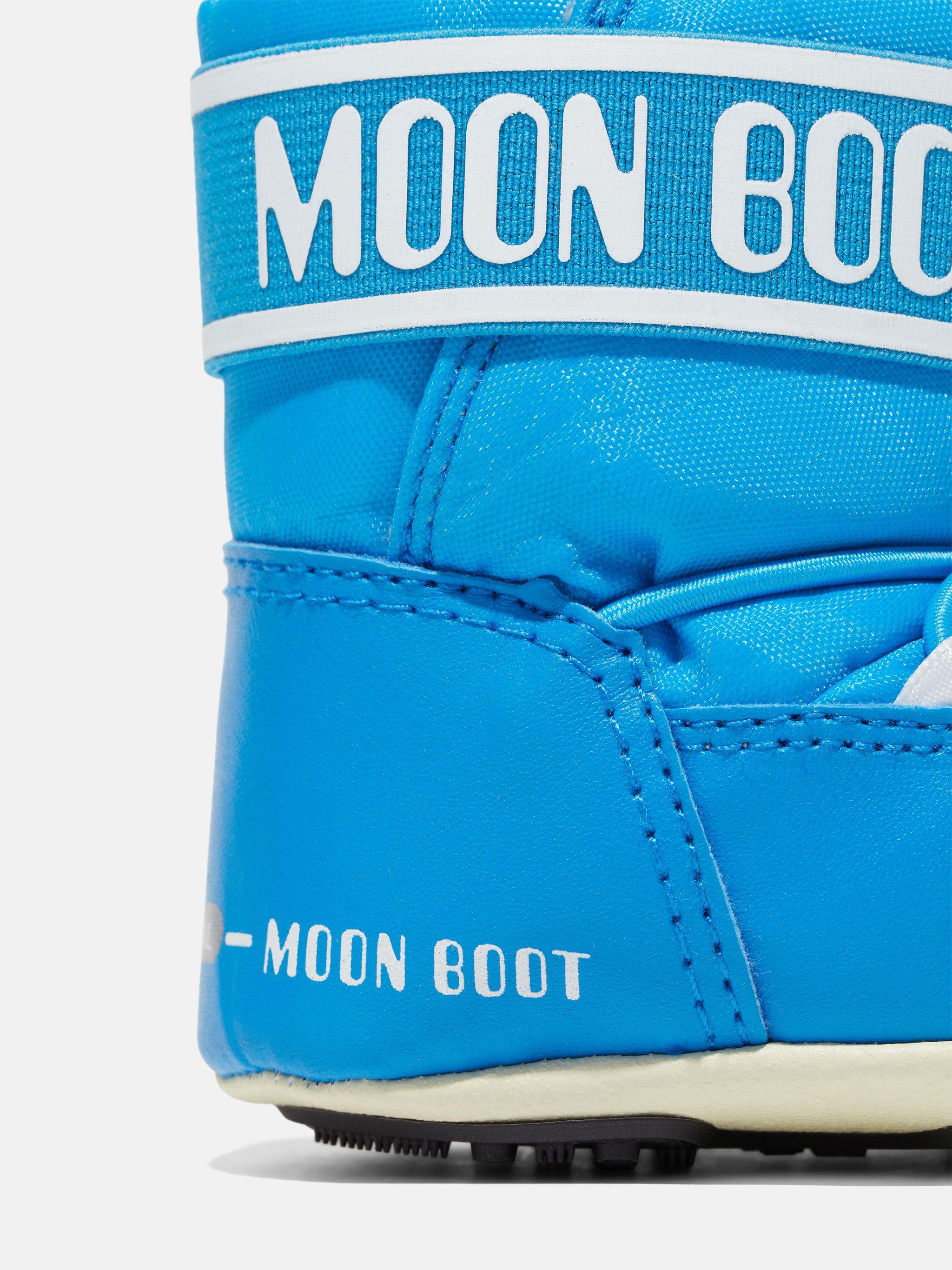CRIB BLUE NYLON BOOTS