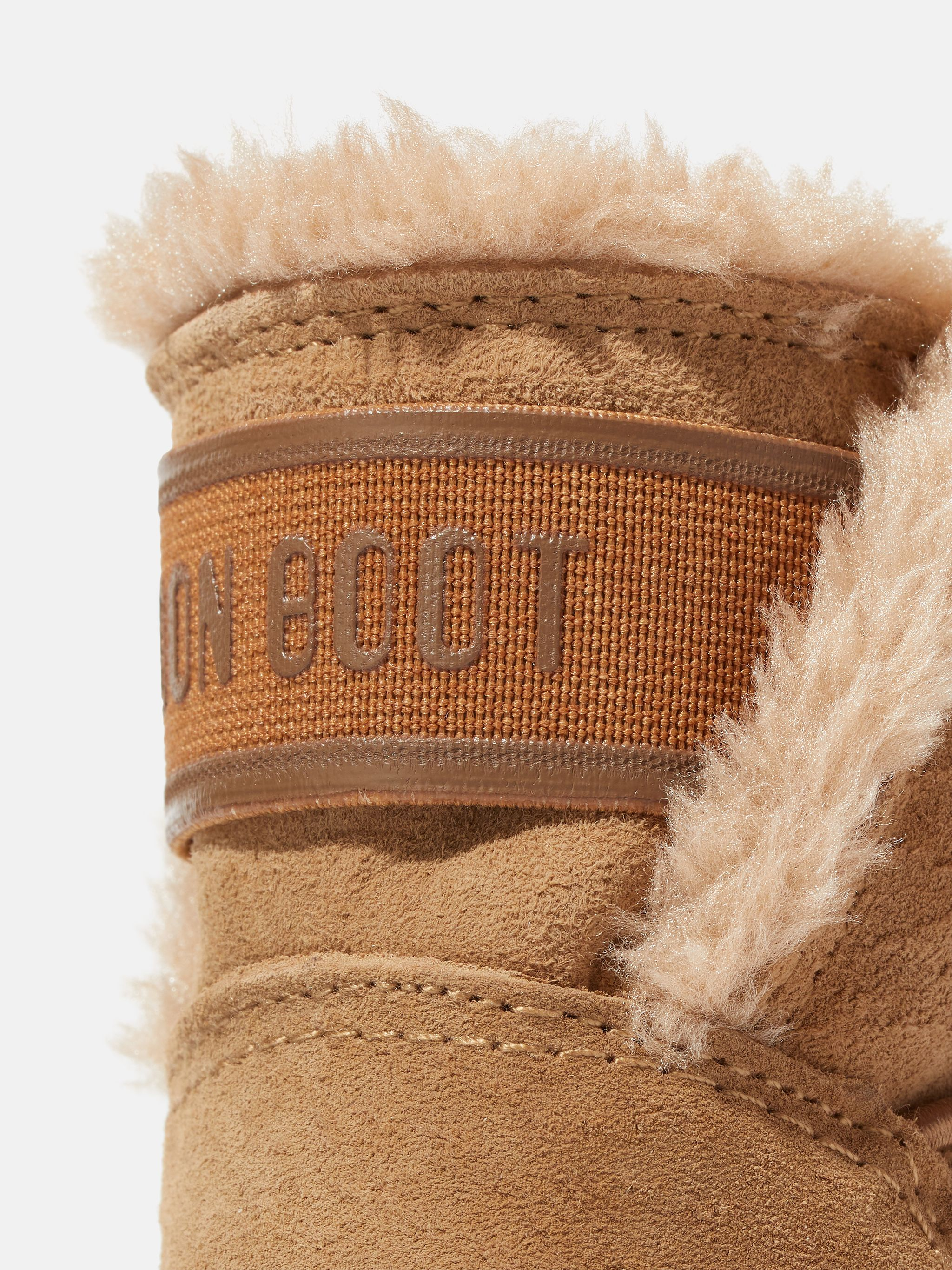 CRIB TAN SUEDE BOOTS