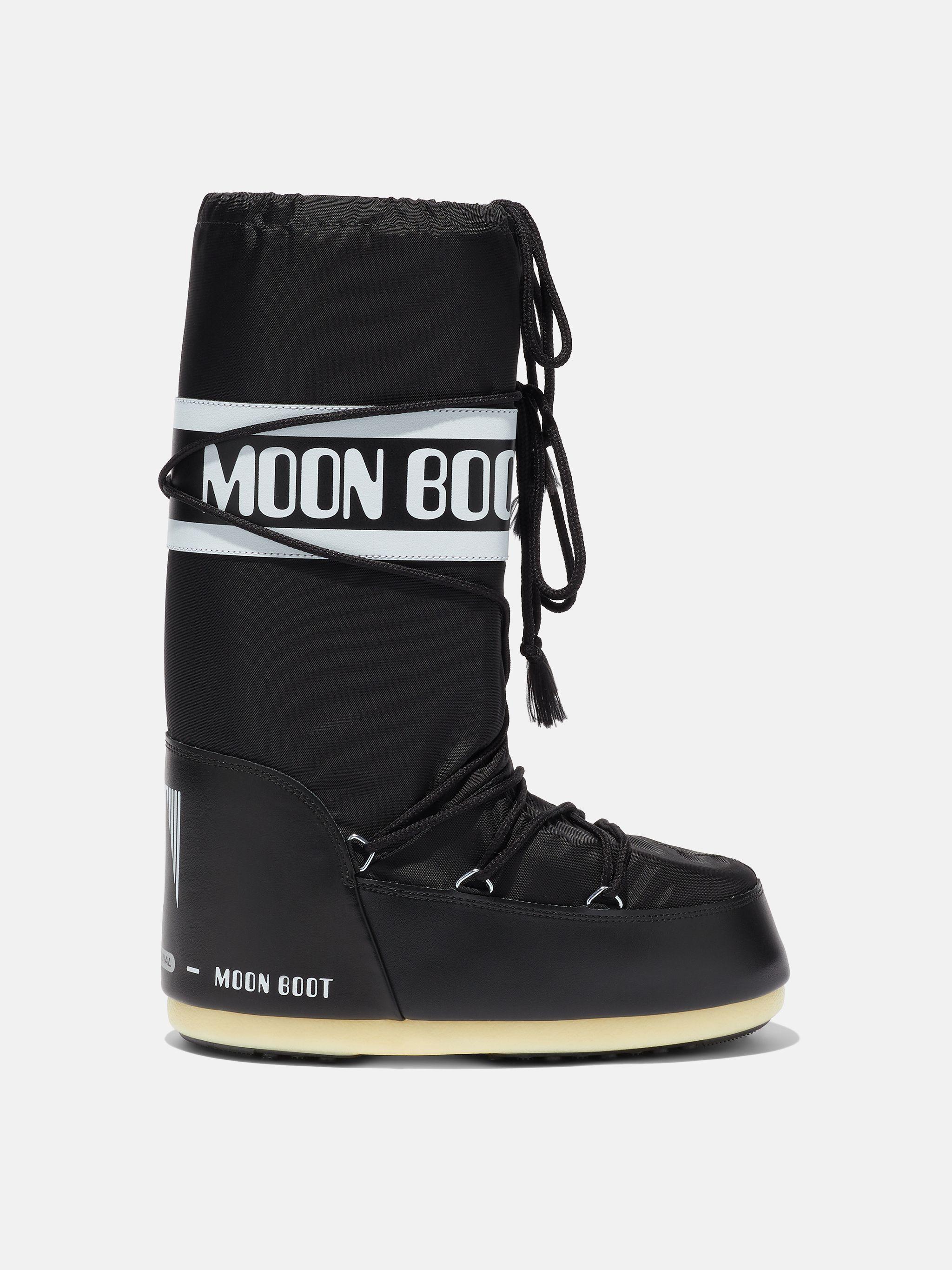 ICON JUNIOR BLACK NYLON BOOTS