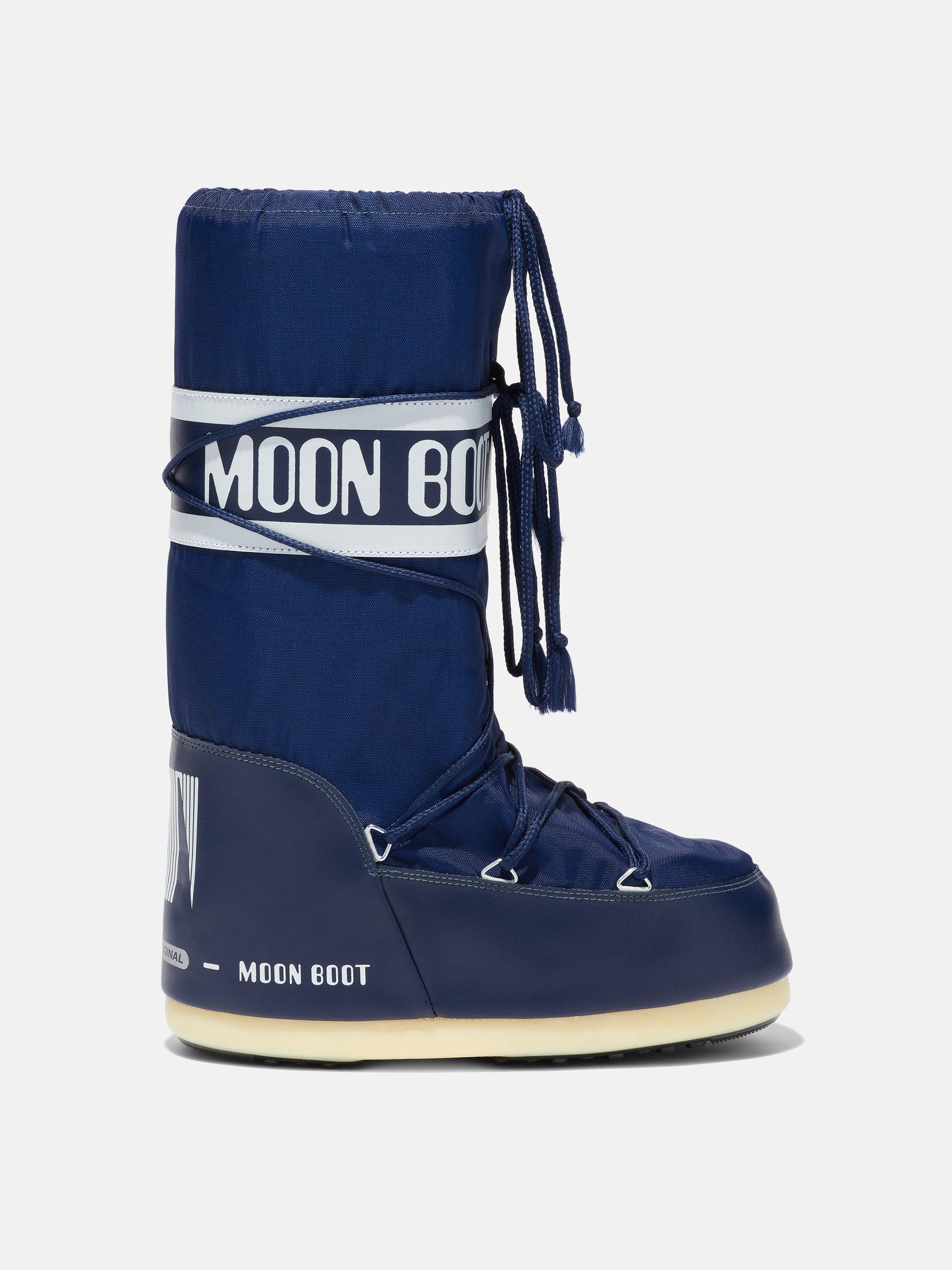ICON JUNIOR BLUE NYLON BOOTS