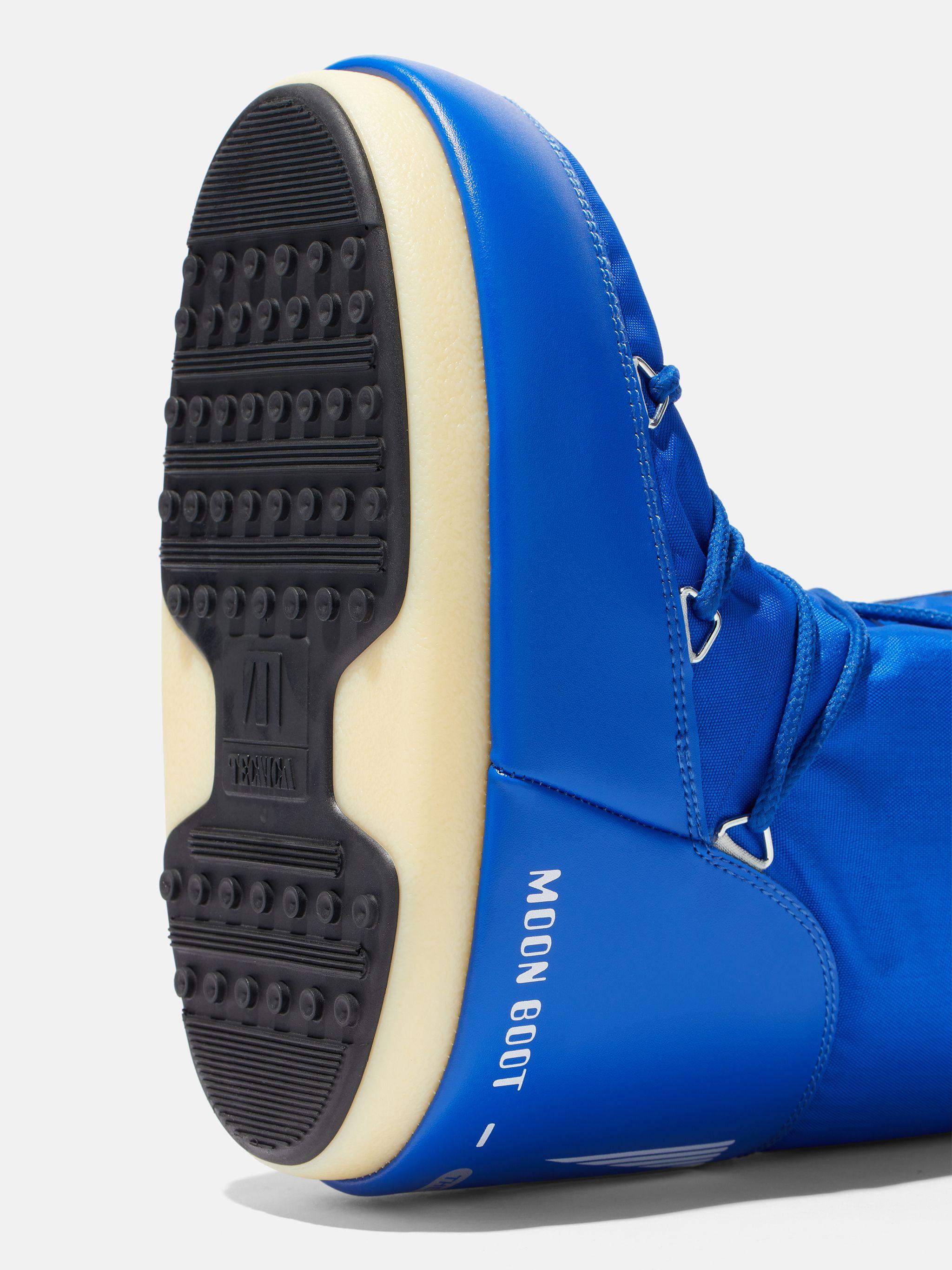 ICON JUNIOR ELECTRIC-BLUE NYLON BOOTS