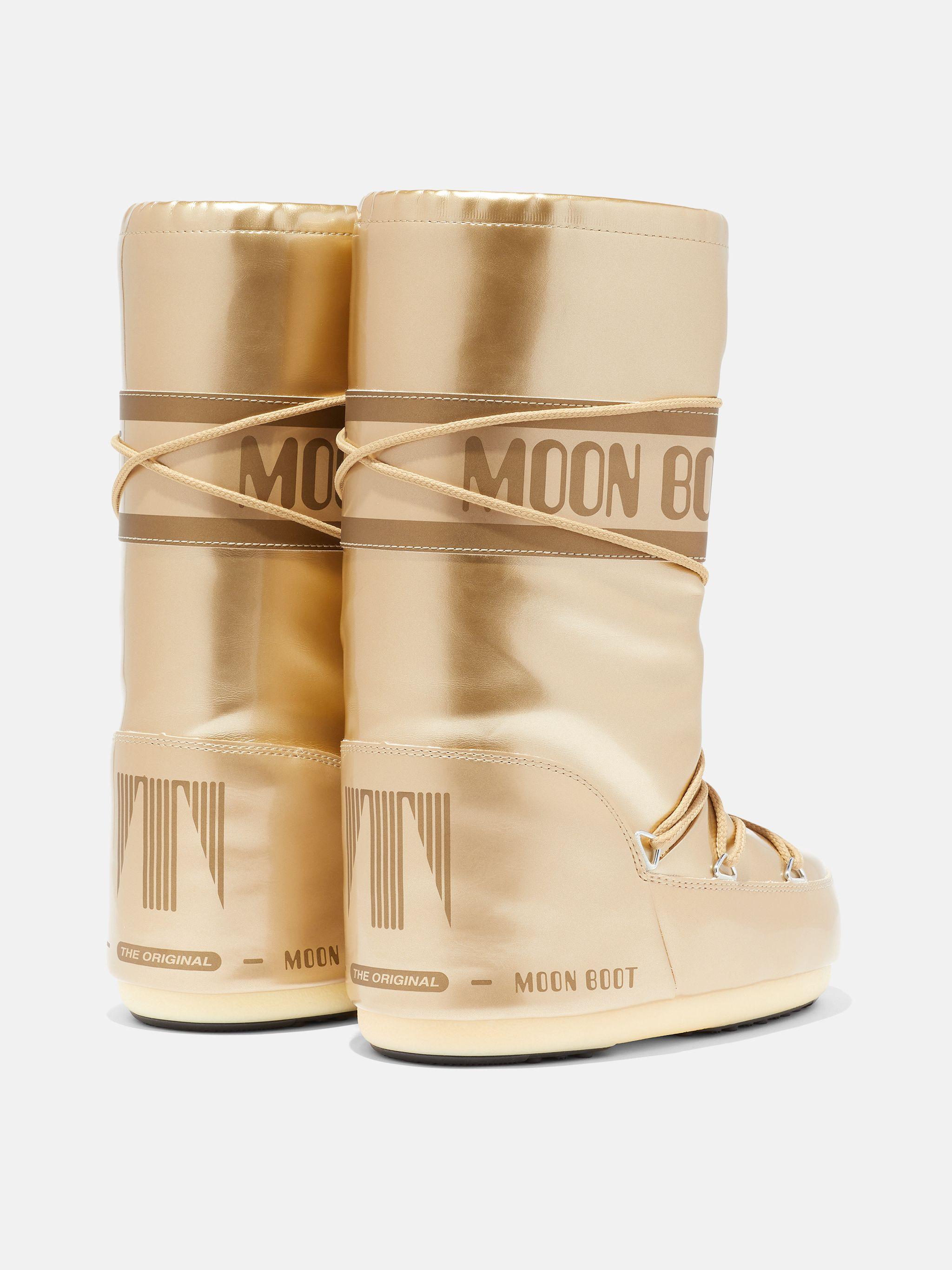ICON JUNIOR GOLD VINYL BOOTS