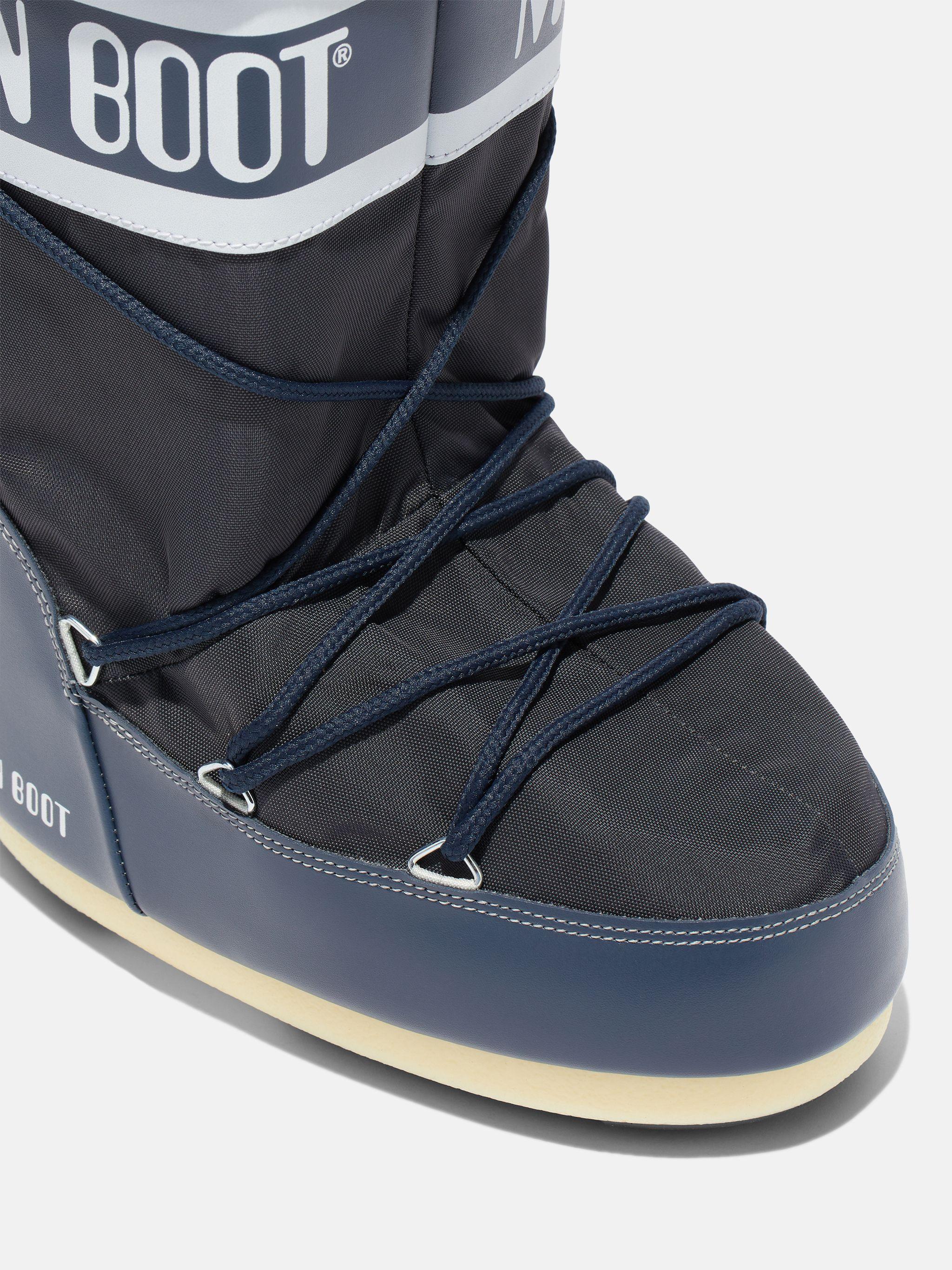 ICON JUNIOR MID-BLUE NYLON BOOTS