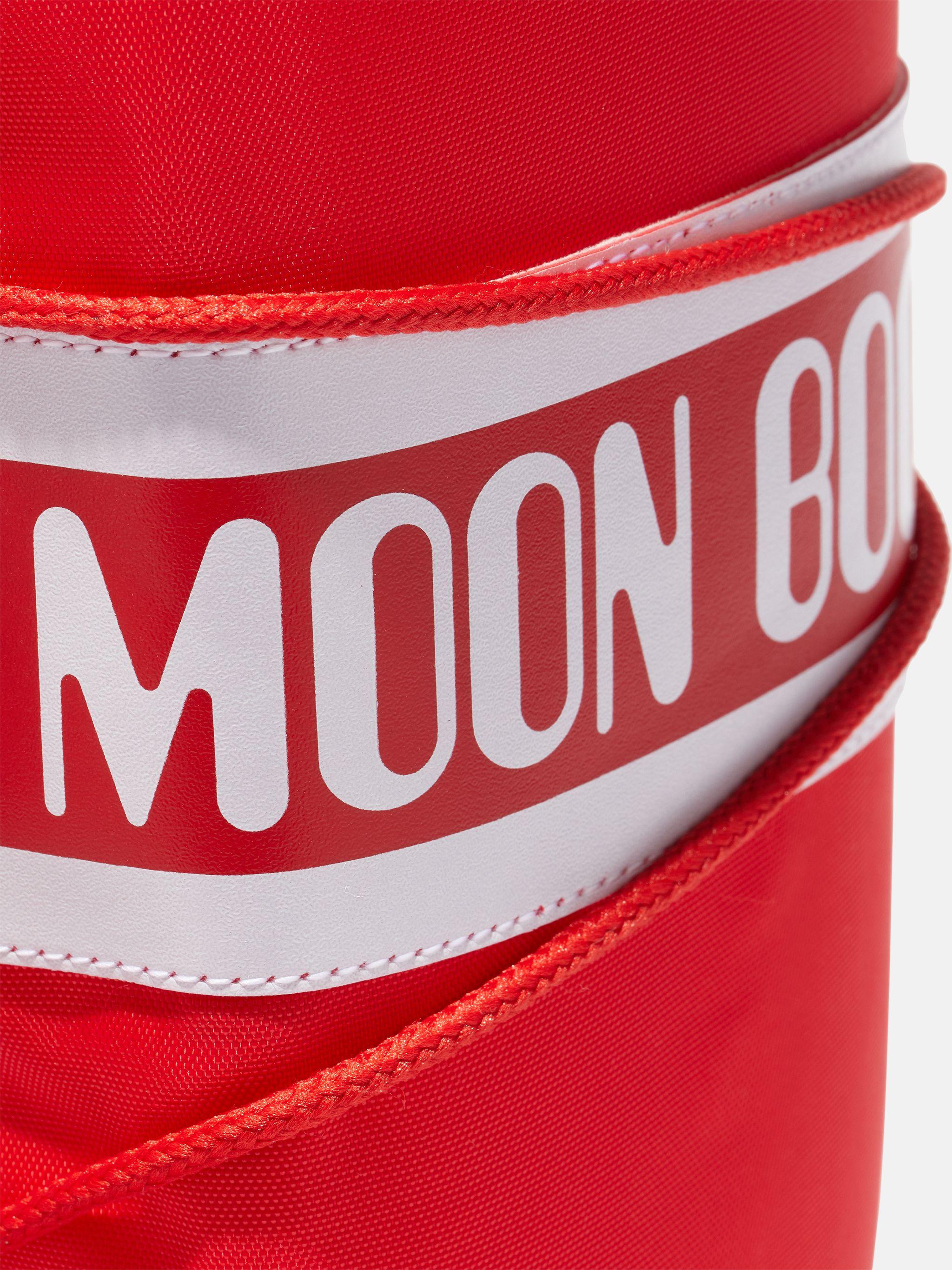 ICON JUNIOR RED NYLON BOOTS