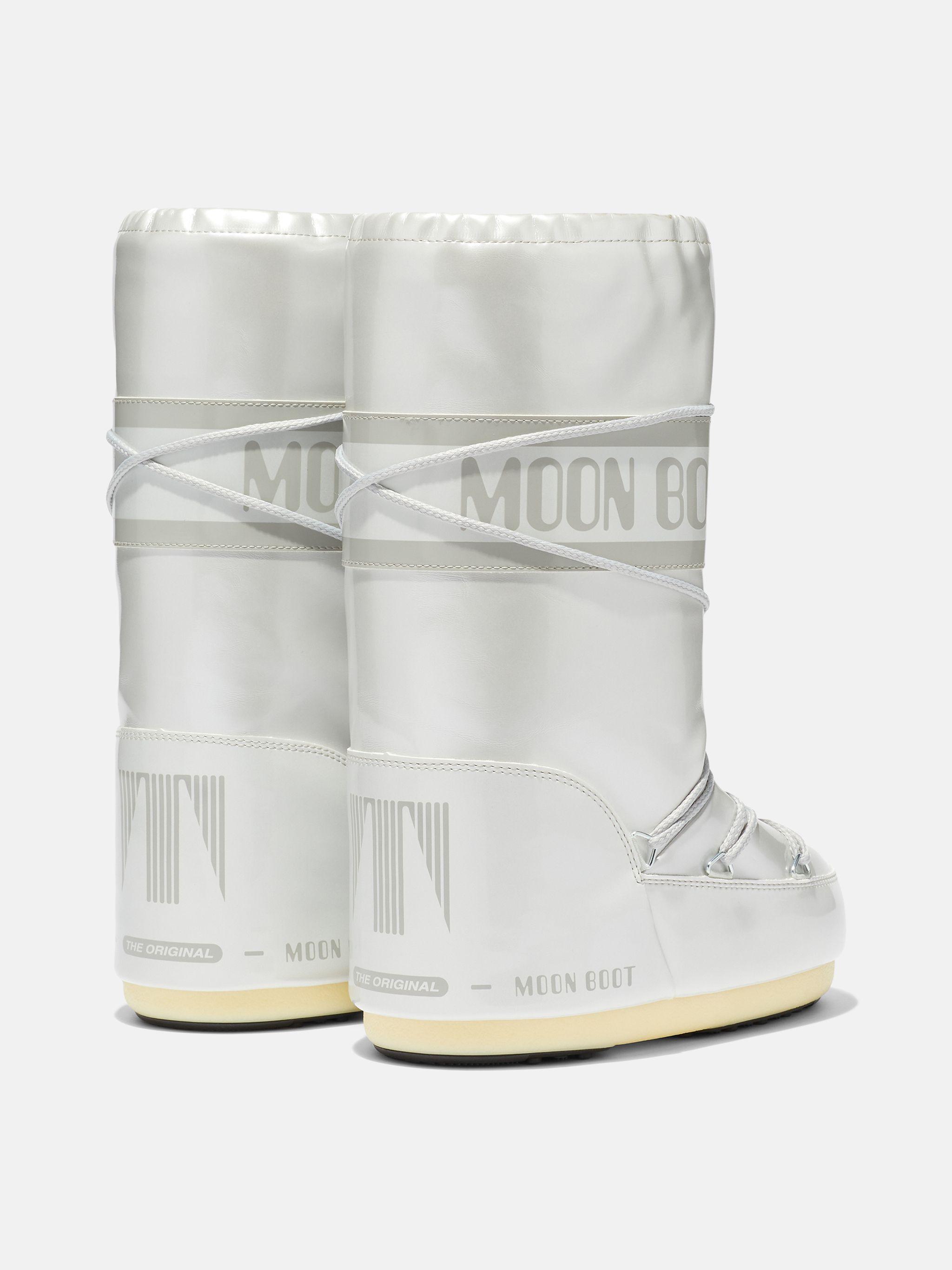 ICON JUNIOR WHITE VINYL BOOTS