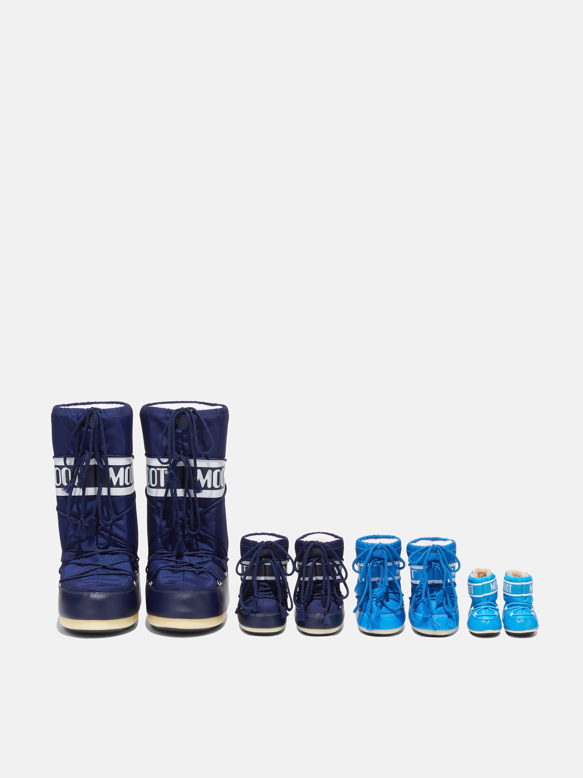 ICON MINI BLUE NYLON BOOTS