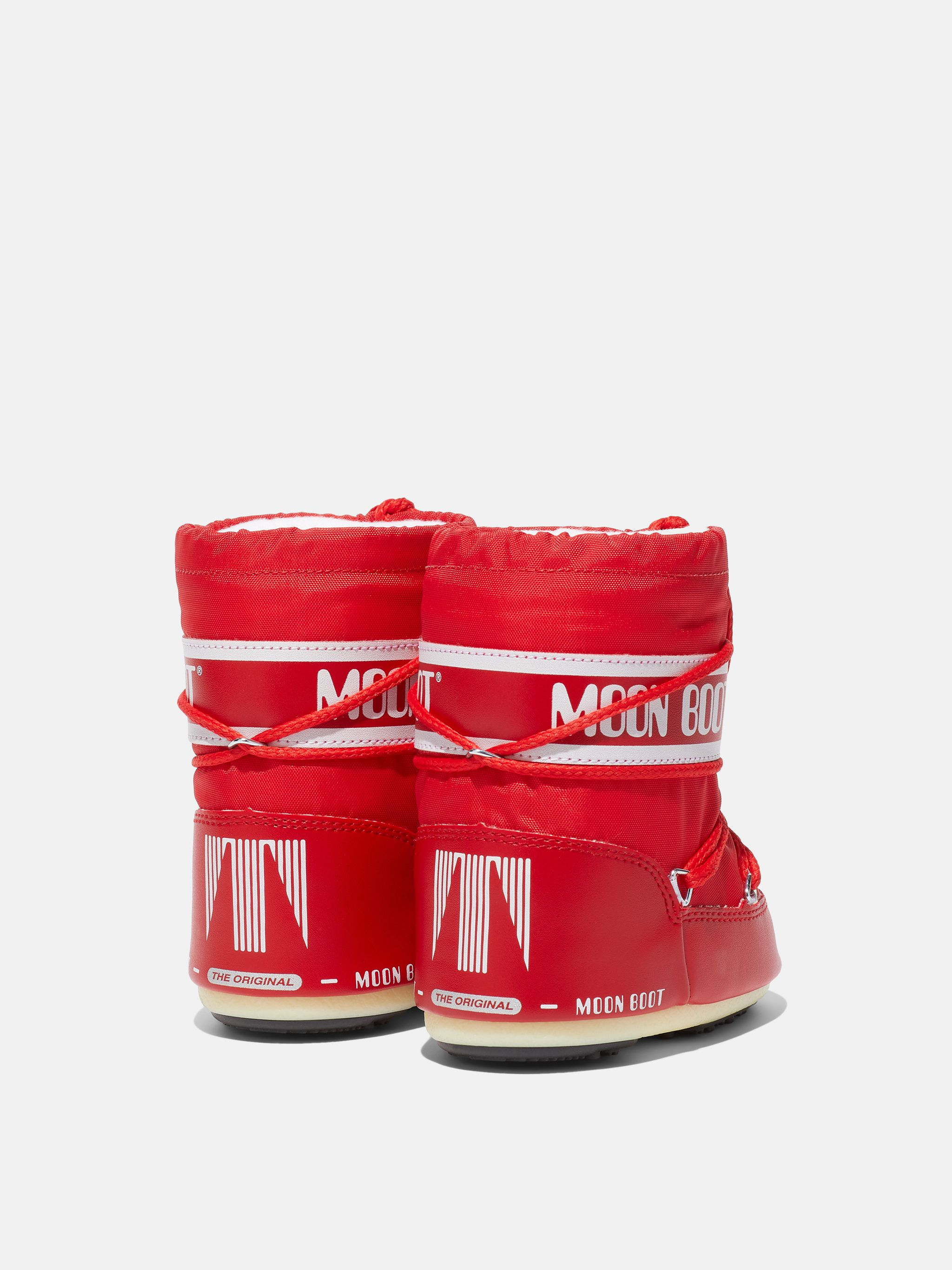 ICON MINI RED NYLON BOOTS