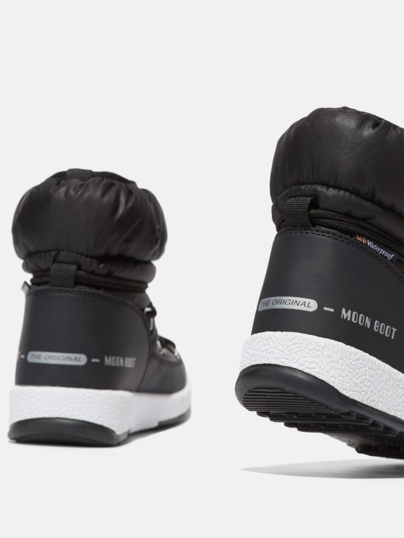 PROTECHT JUNIOR LOW BLACK NYLON BOOTS