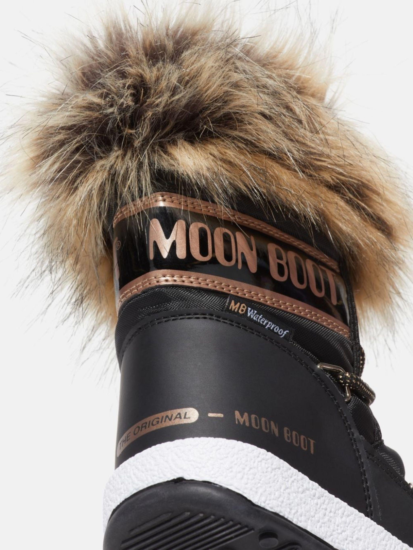 PROTECHT JUNIOR LOW MONACO BLACK NYLON BOOTS