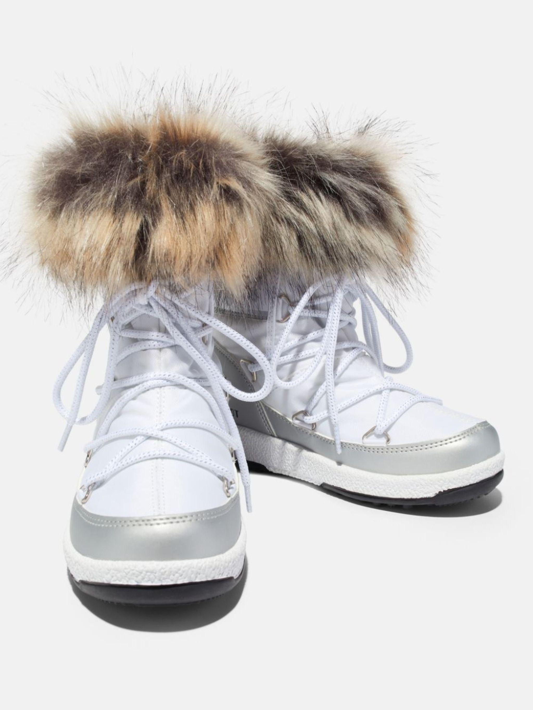 PROTECHT JUNIOR LOW MONACO WHITE NYLON BOOTS