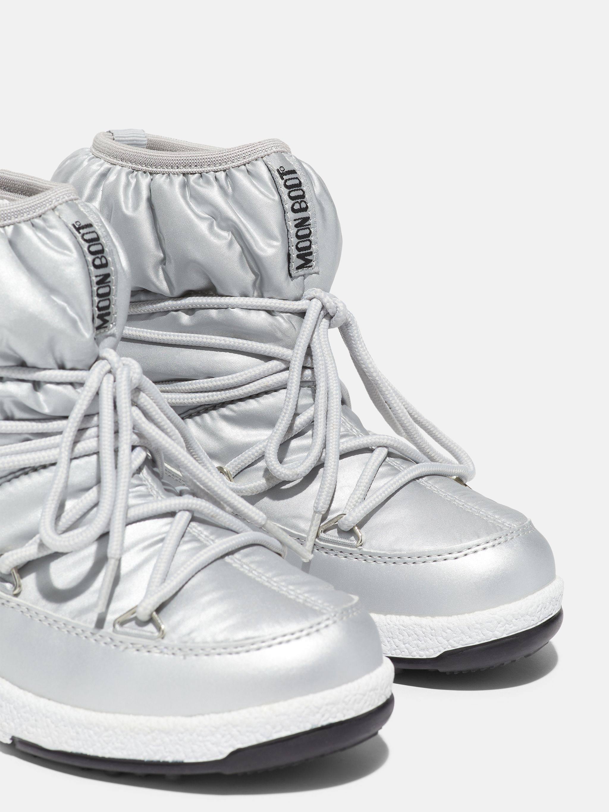 PROTECHT JUNIOR LOW SILVER NYLON BOOTS