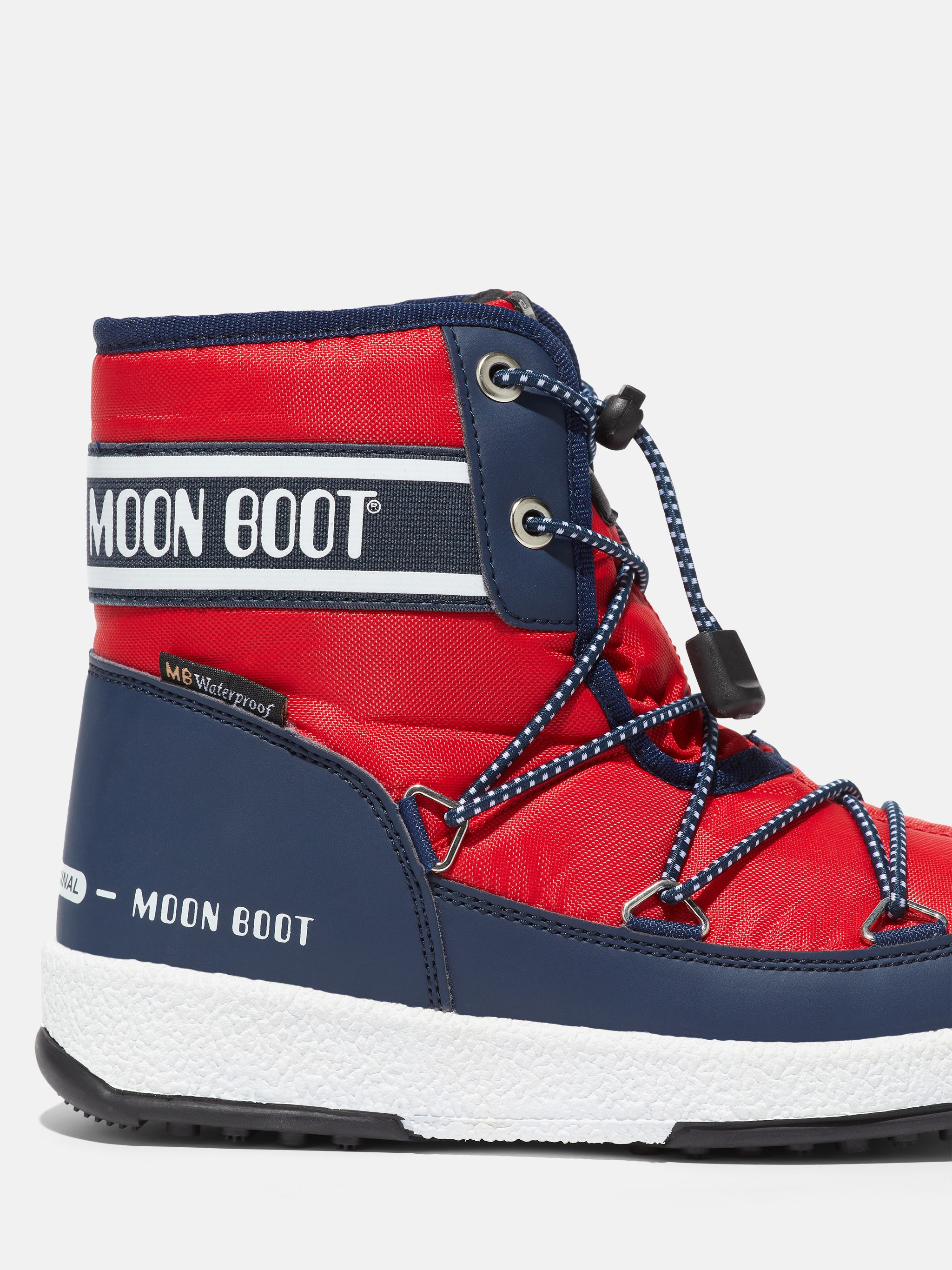 PROTECHT JUNIOR MID RED NYLON BOOTS
