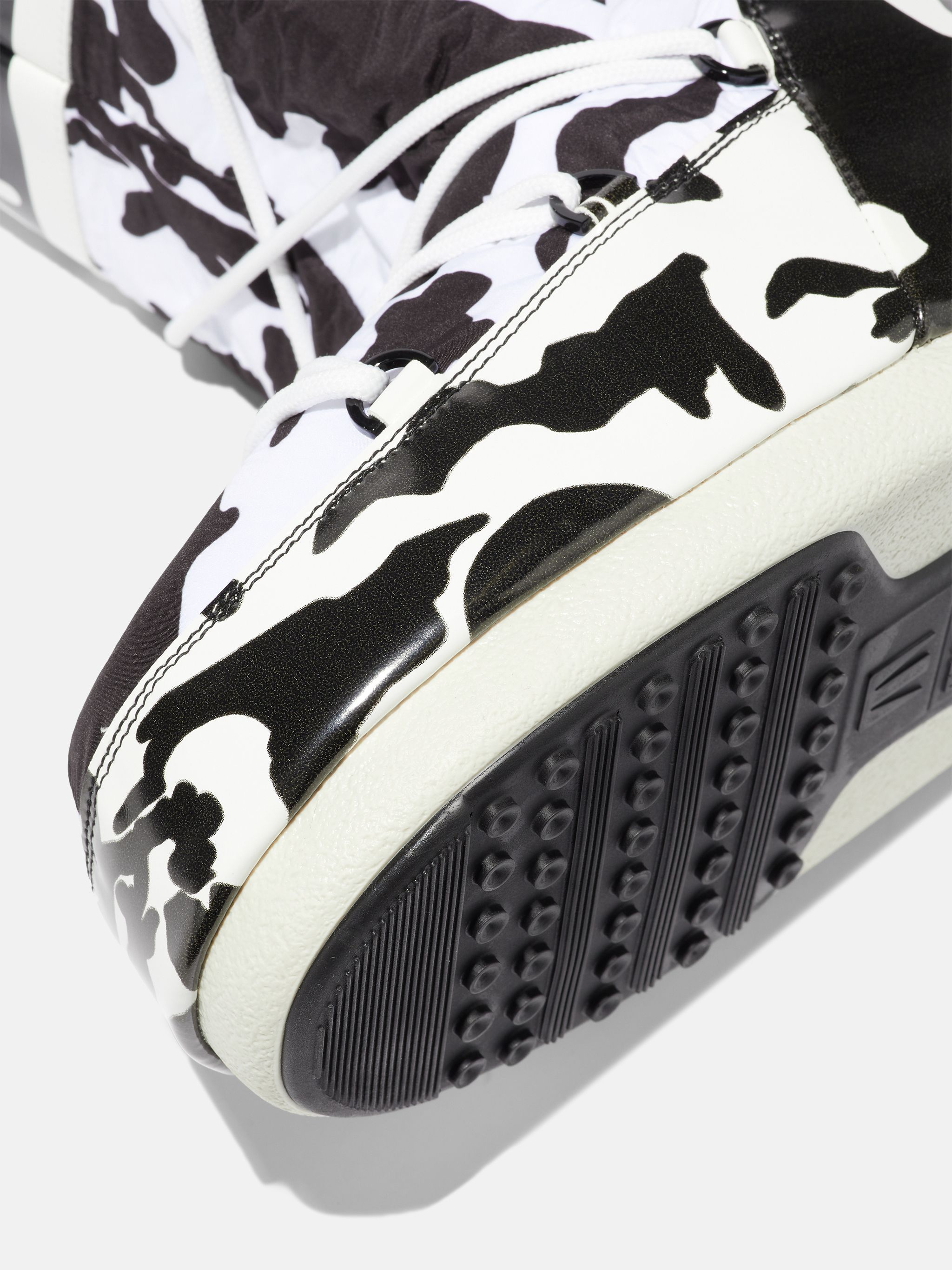 LAB69 ICON COW-PRINT BOOTS