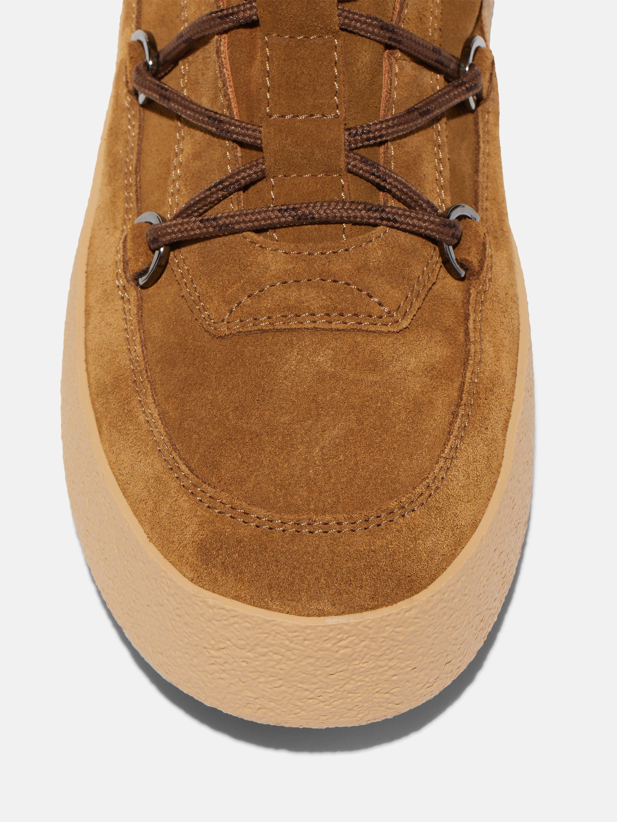 MTRACK TAN SUEDE BOOTS