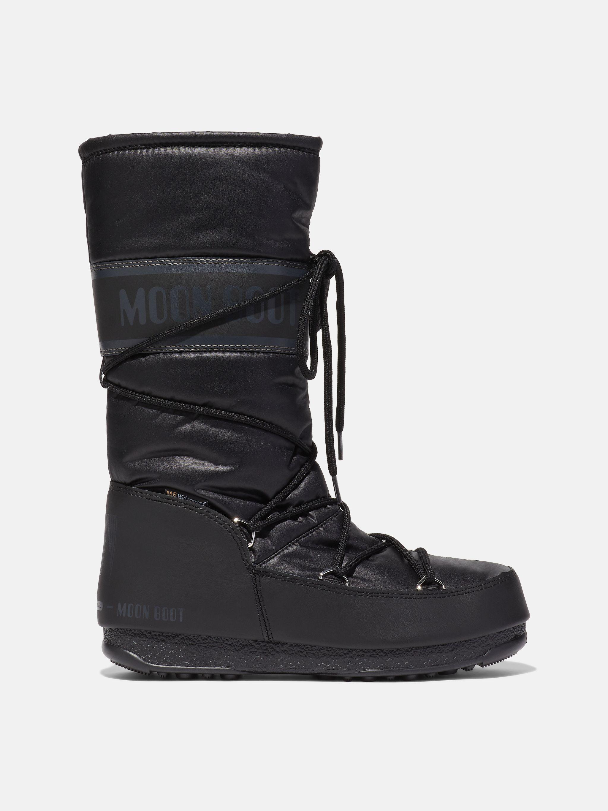 PROTECHT HI-TOP BLACK BOOTS