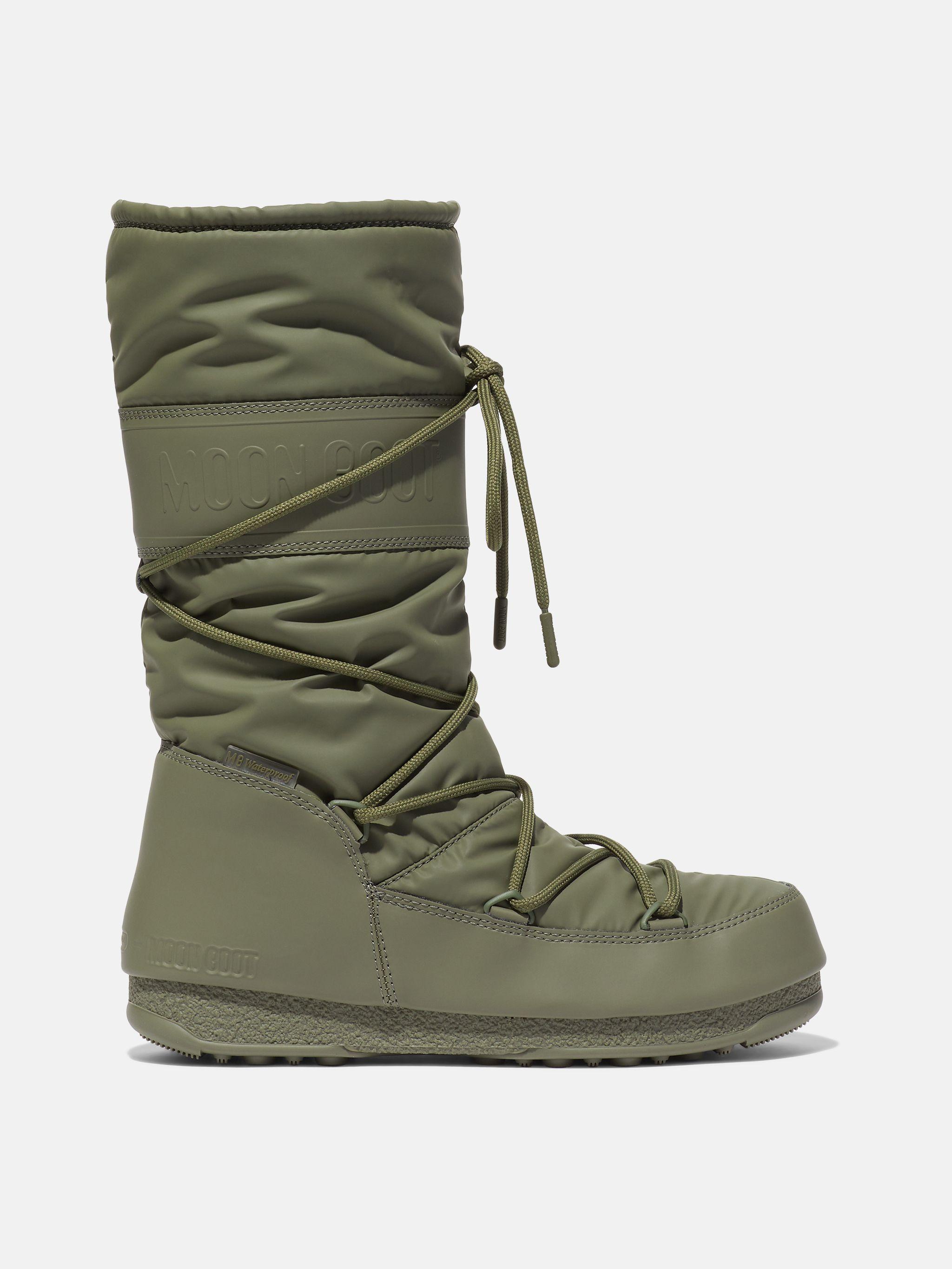 PROTECHT HI-TOP KHAKI RUBBER BOOTS