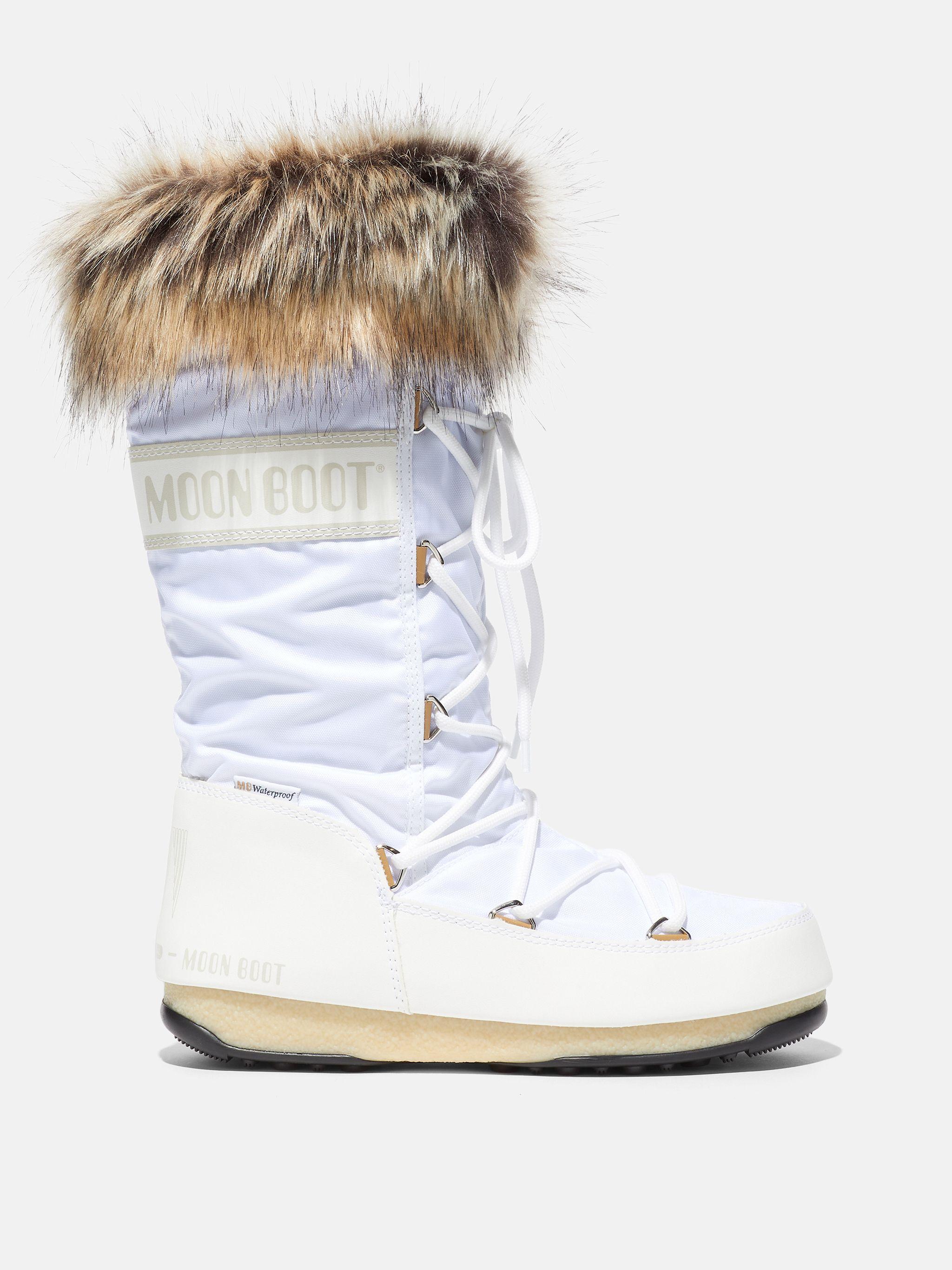 PROTECHT HI-TOP MONACO WHITE BOOTS