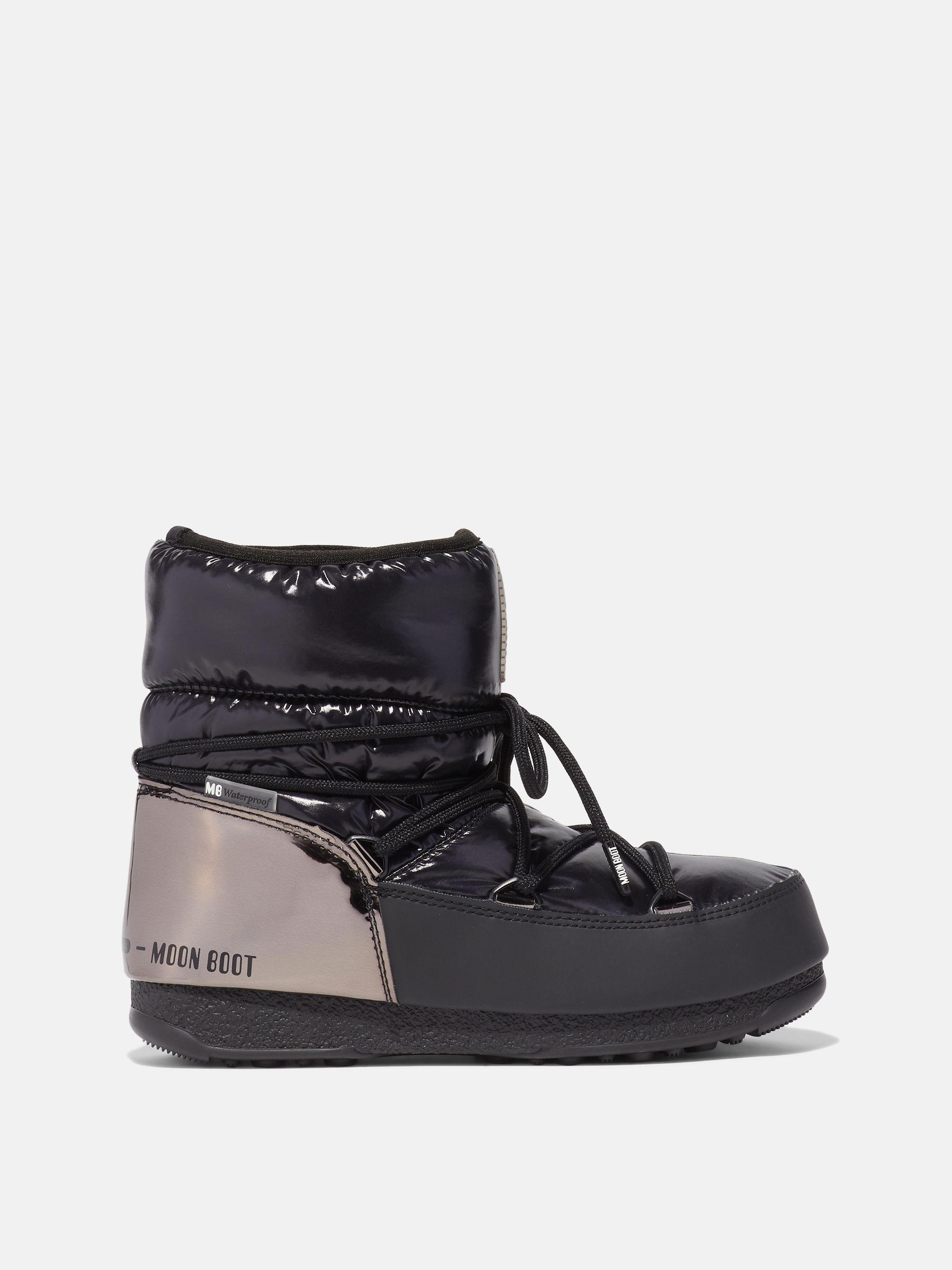 PROTECHT LOW ASPEN BLACK BOOTS
