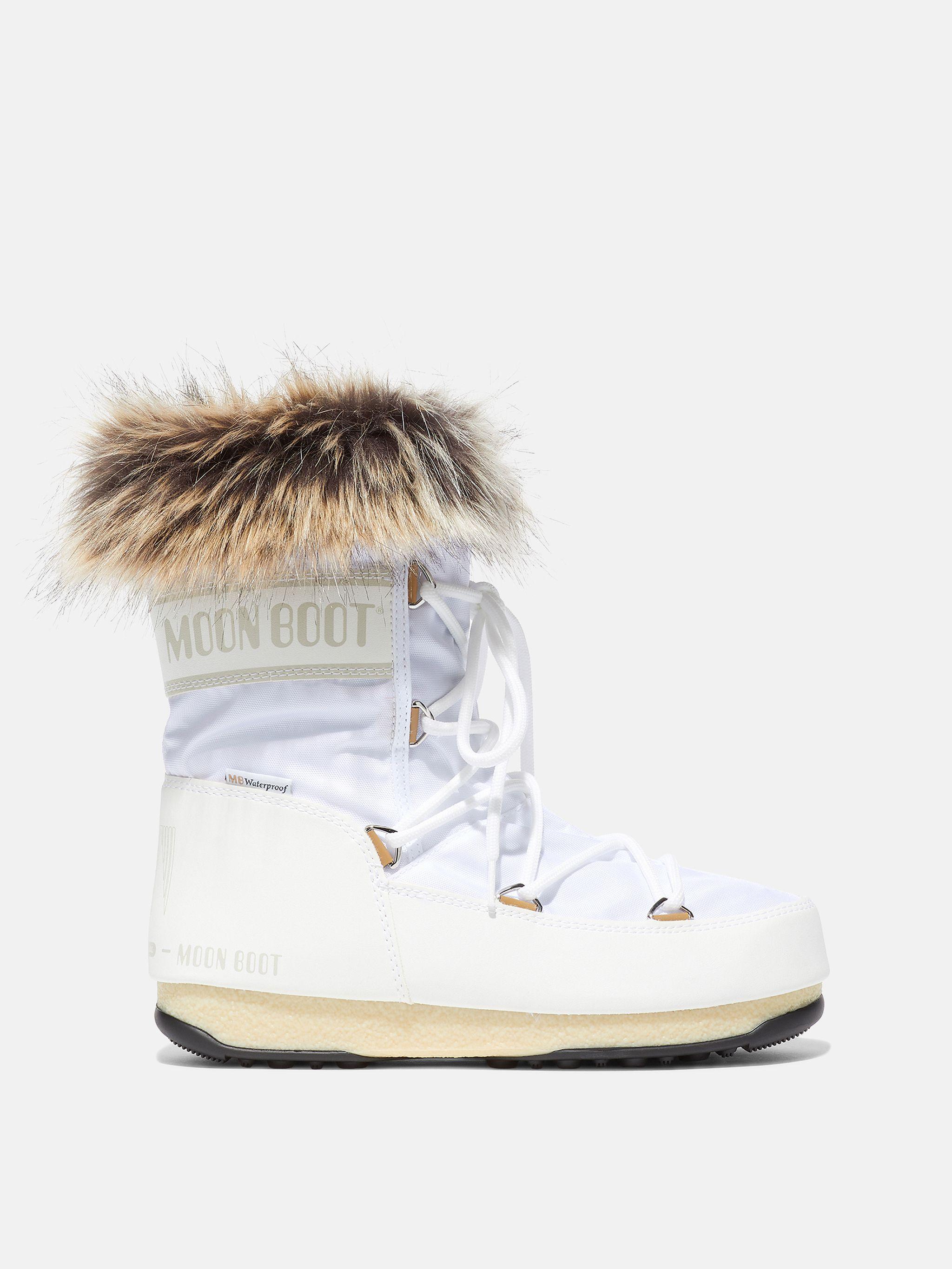 PROTECHT LOW MONACO WHITE BOOTS