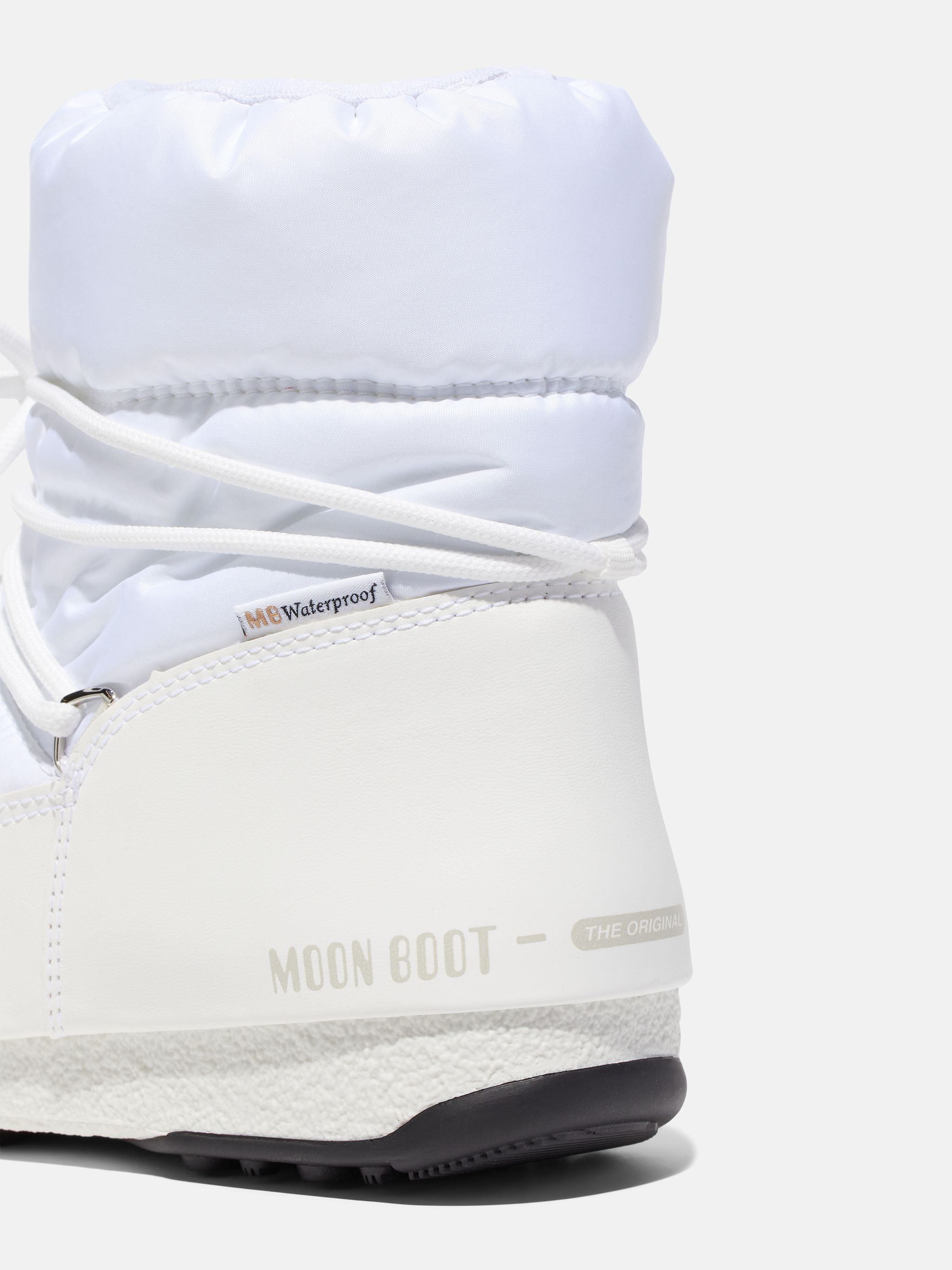 PROTECHT LOW WHITE BOOTS