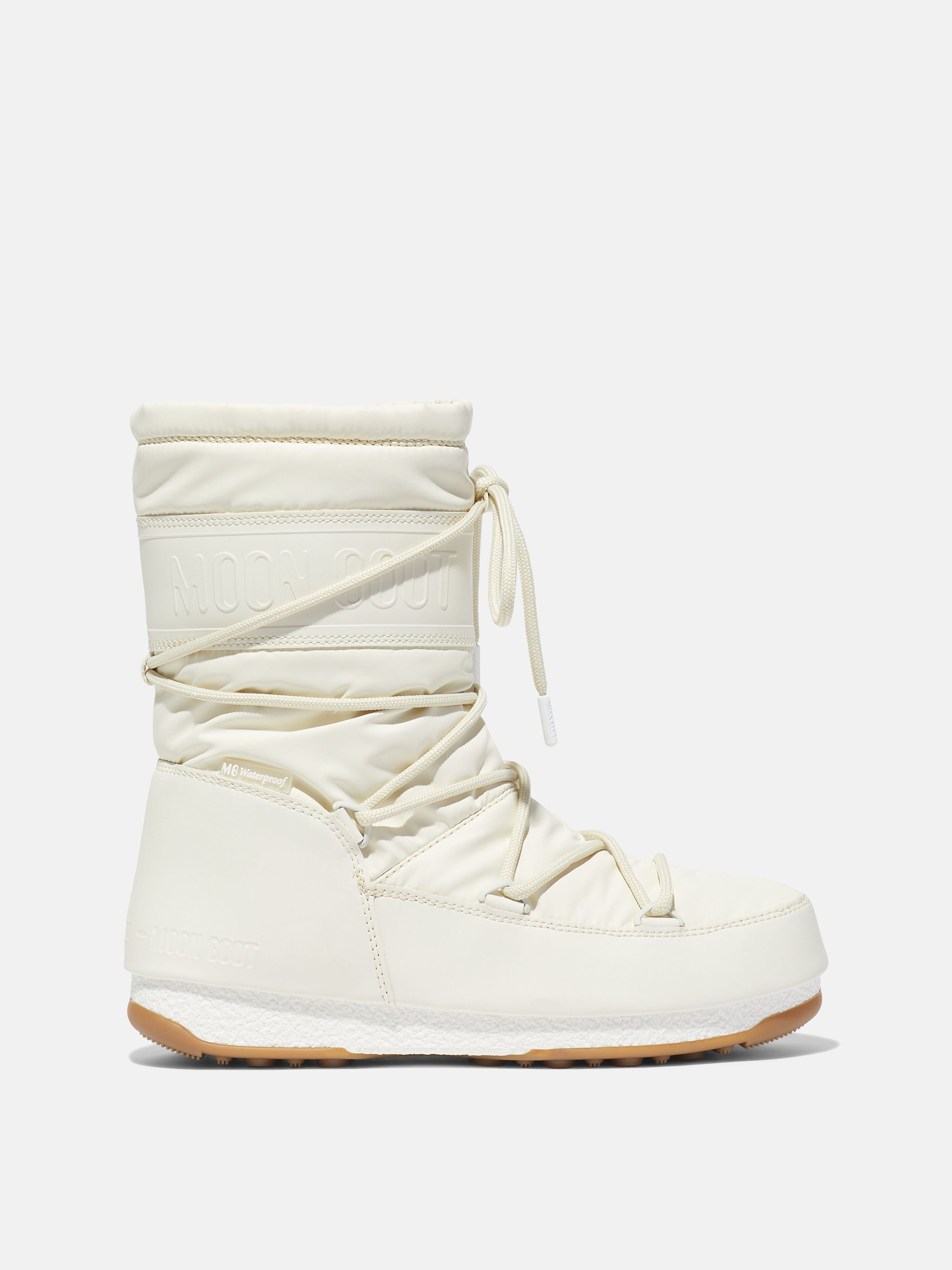 PROTECHT MID CREAM RUBBER BOOTS