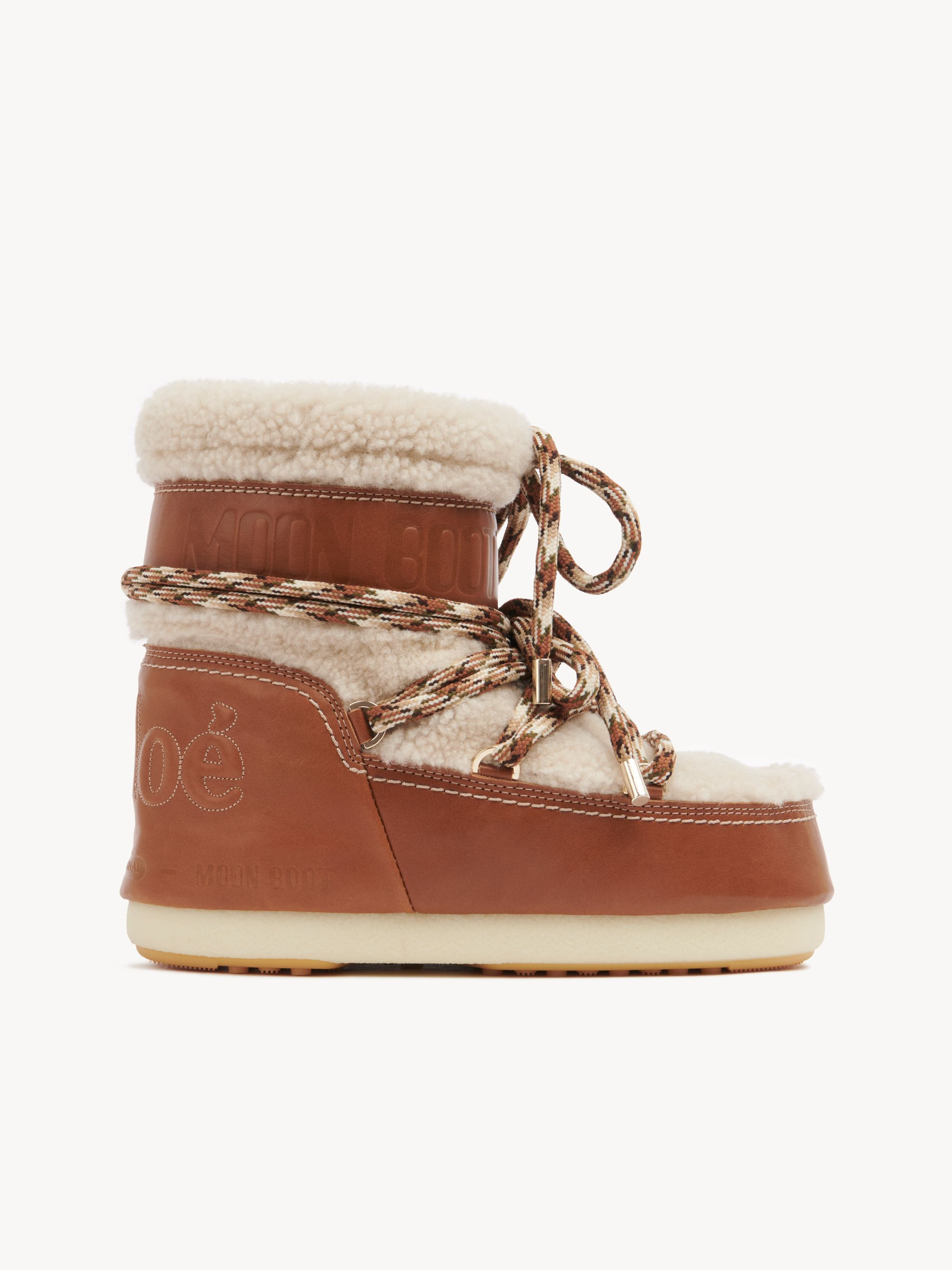 STIVALE CHLOÉ PANNA IN SHEARLING